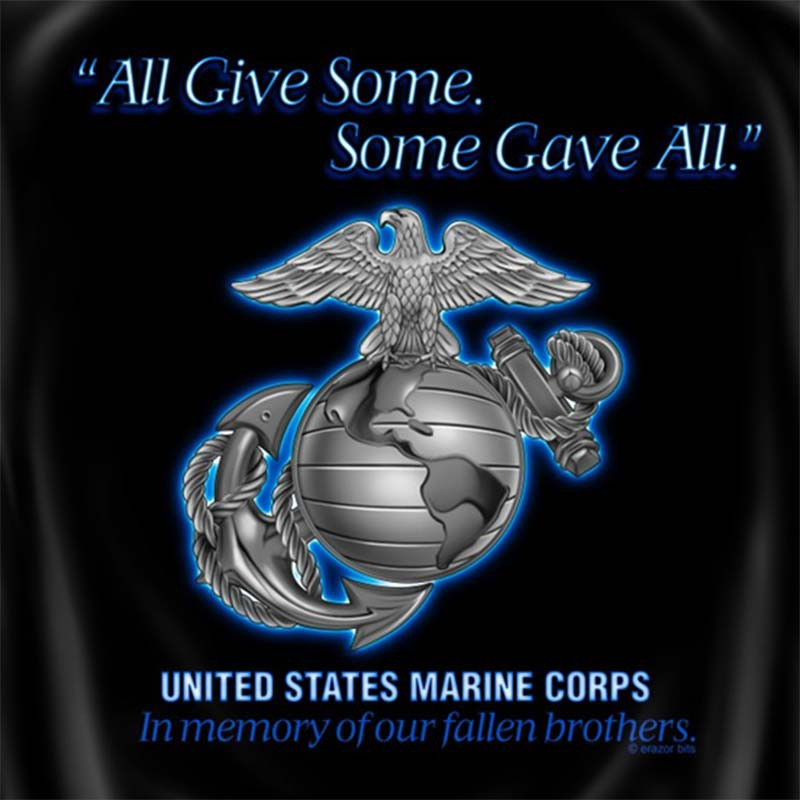 Marine Corps All Gave Some - Some Gave All  T-Shirt
