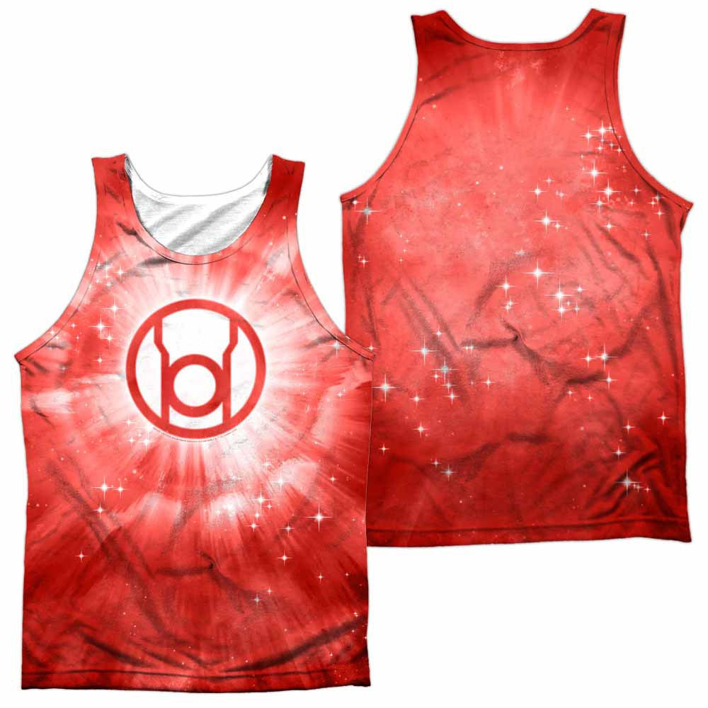 Green Lantern Red Energy Sublimation Tank Top