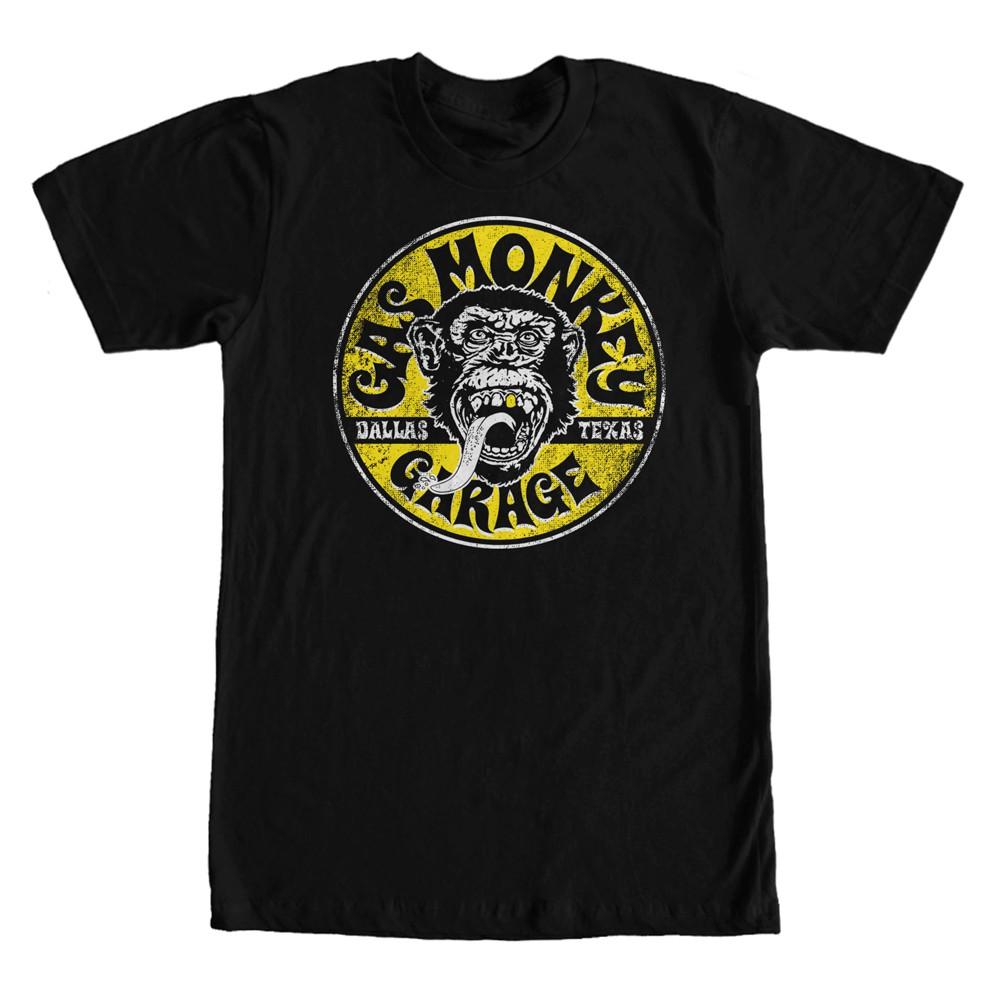 Gas Monkey Garage Equipped Black T-Shirt