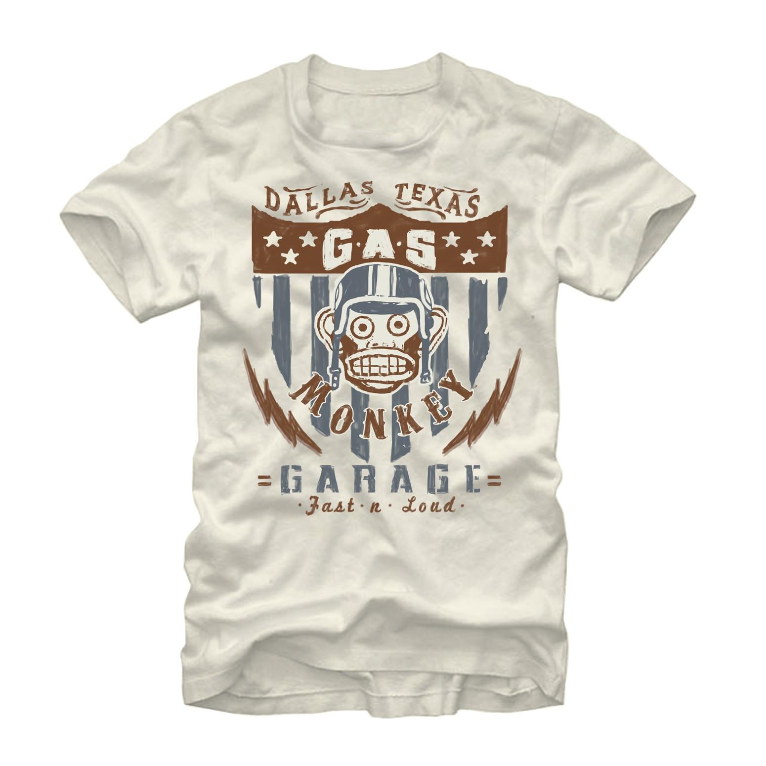 Gas Monkey Garage American Cream T-Shirt