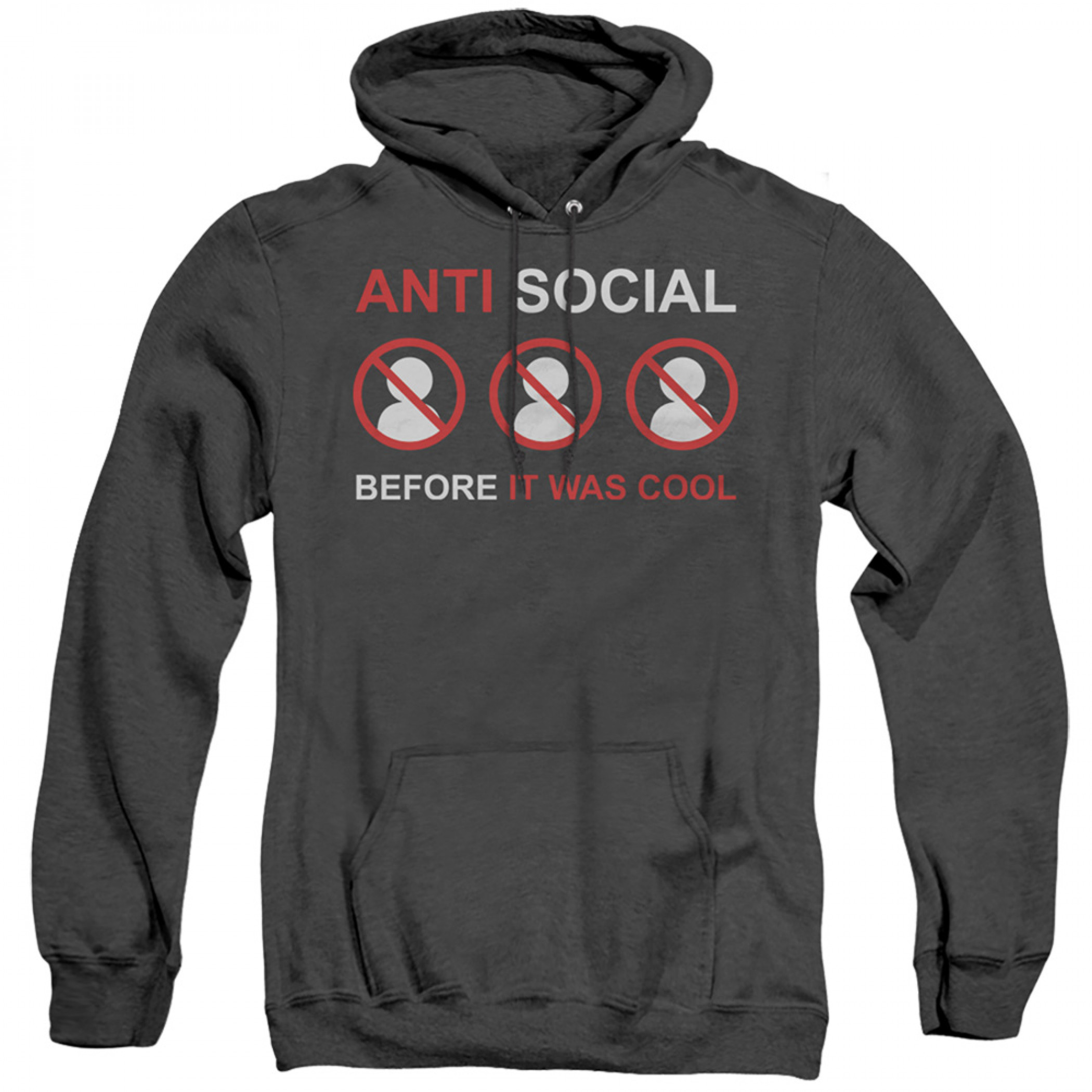 Anti Social B4 It was Cool Social Distancing Hoodie