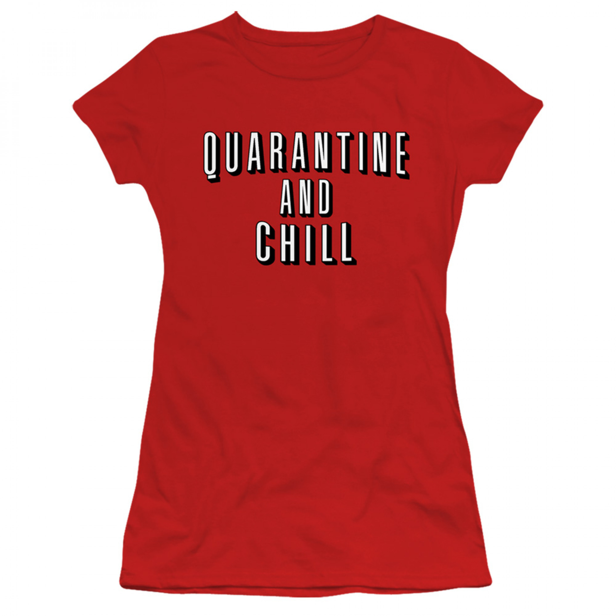 Quarantine and Chill Social Distancing Women's T-Shirt