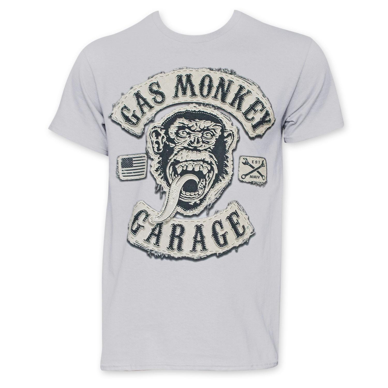 Gas Monkey Garage Men's Grey Tee Shirt
