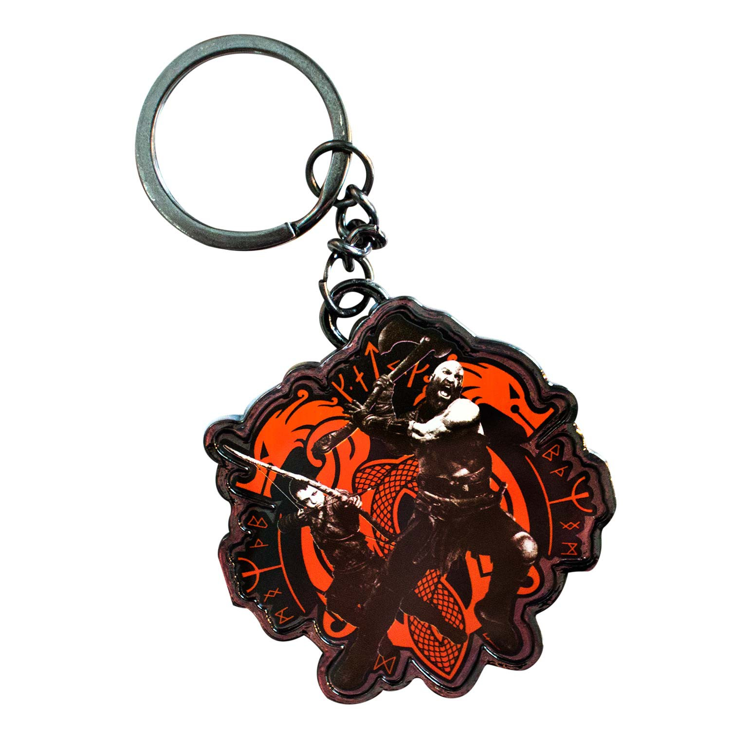 God Of War 4 Keychain