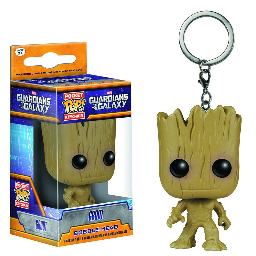 Funko Pop Guardians Of The Galaxy Groot Keychain