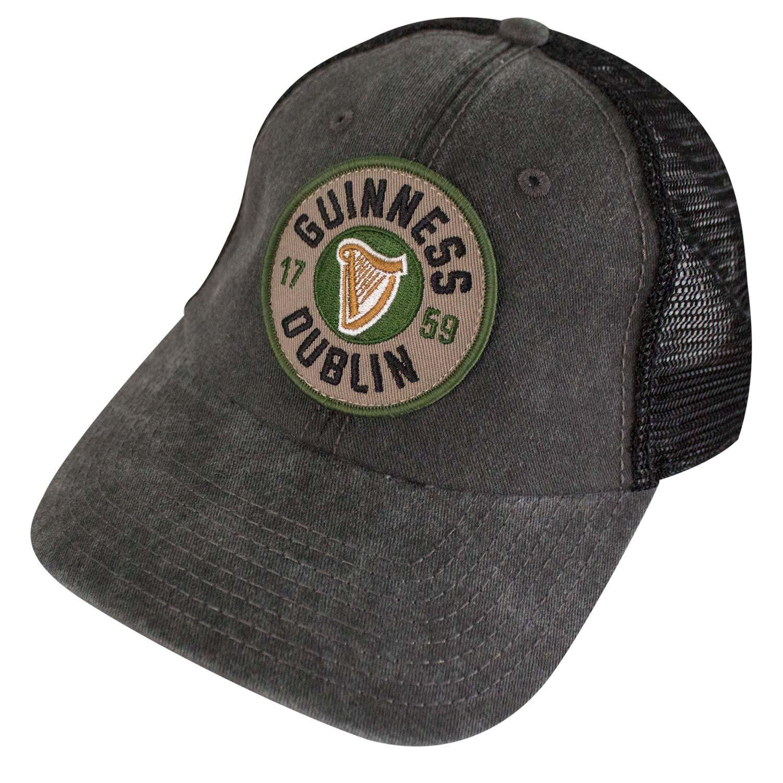 Guinness Dublin Logo Mesh Trucker Hat
