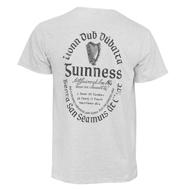 Guinness Light Gaelic Label Tee Shirt