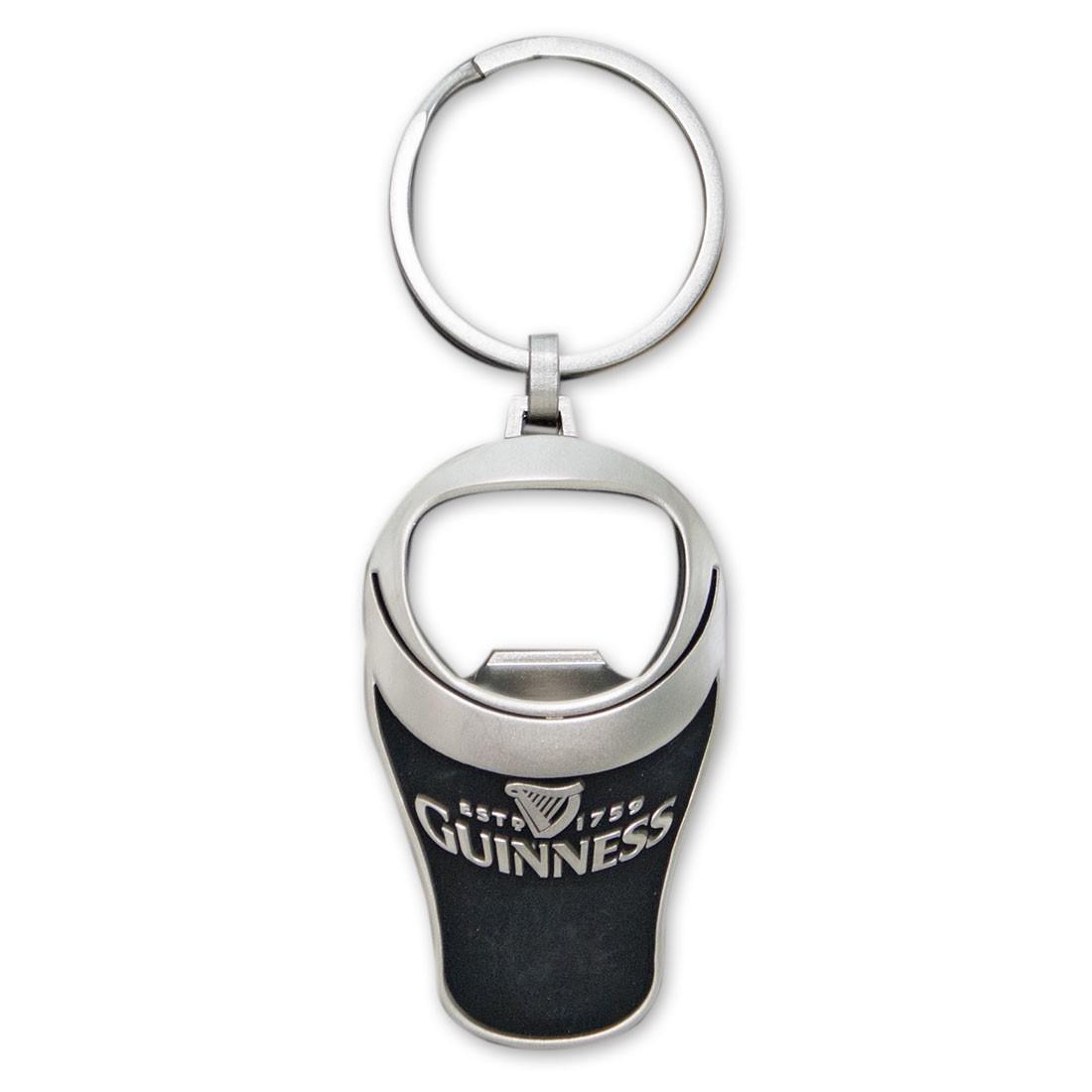 Guinness Bottle Opener Keychain