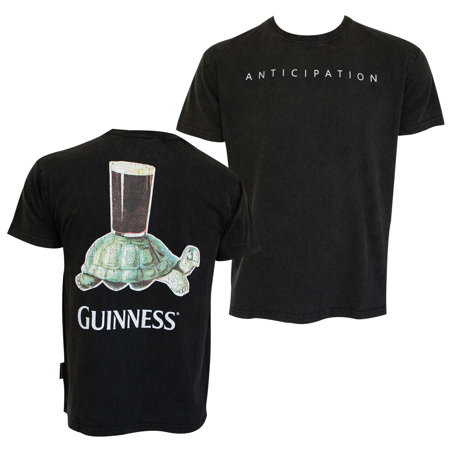 Guinness Anticipation Black Tee Shirt