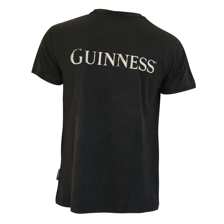Guinness Distressed Harp Tee Shirt