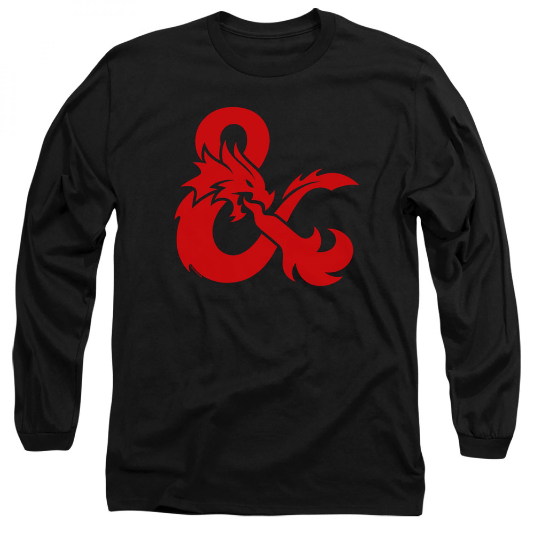 Dungeons & Dragons Ampersand Logo Long Sleeve Shirt