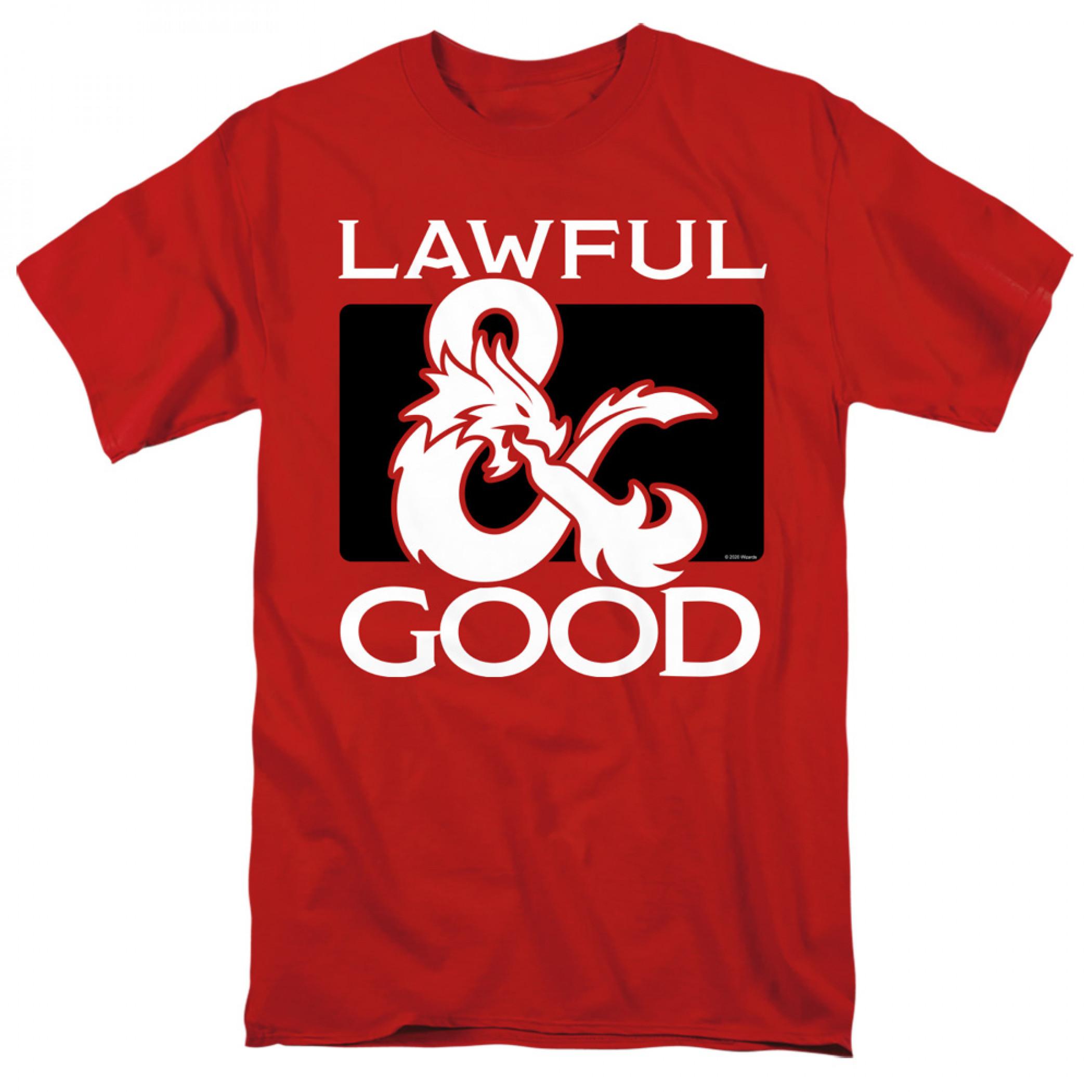 Dungeons & Dragons Lawful Good T-Shirt