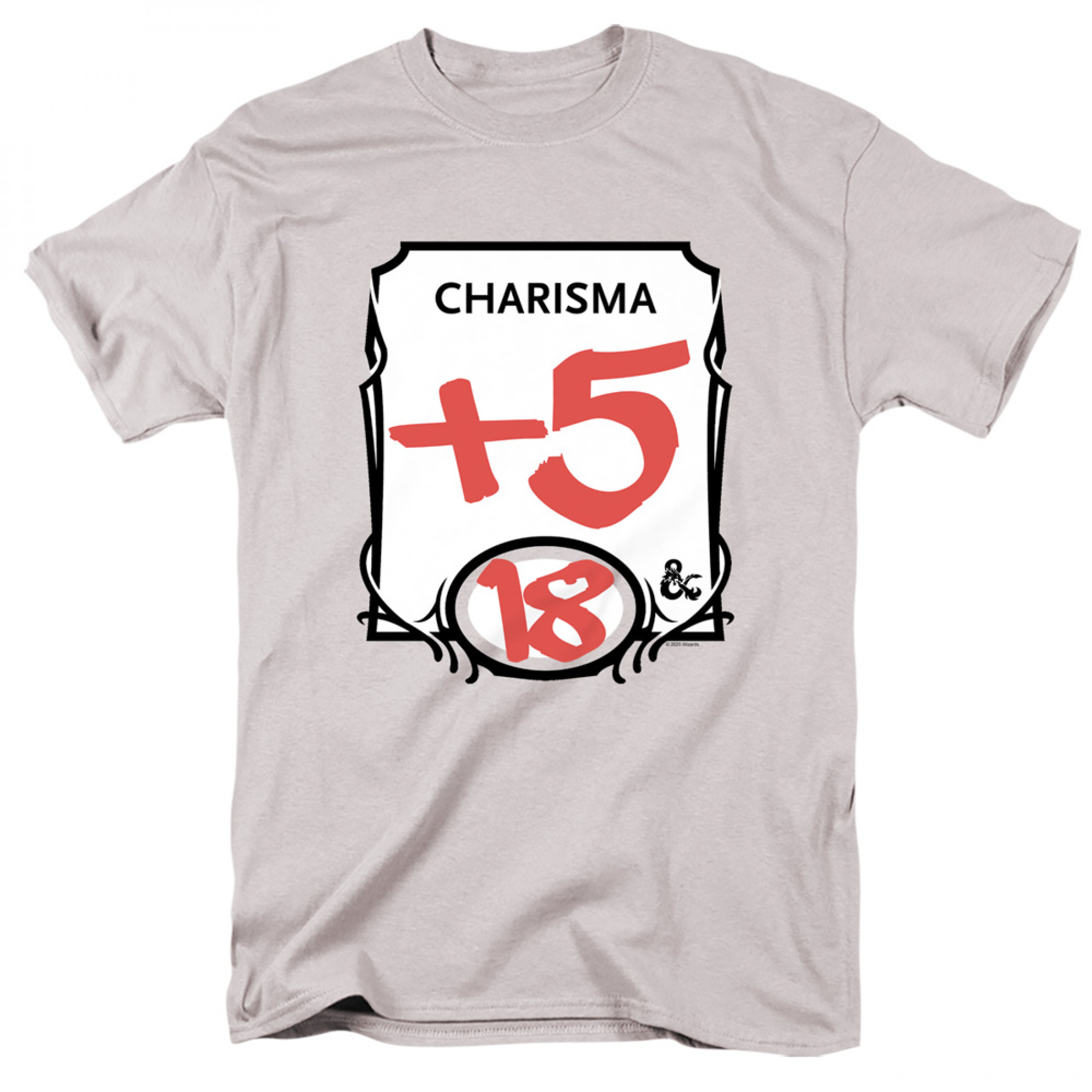Dungeons & Dragons +5 Charisma T-Shirt