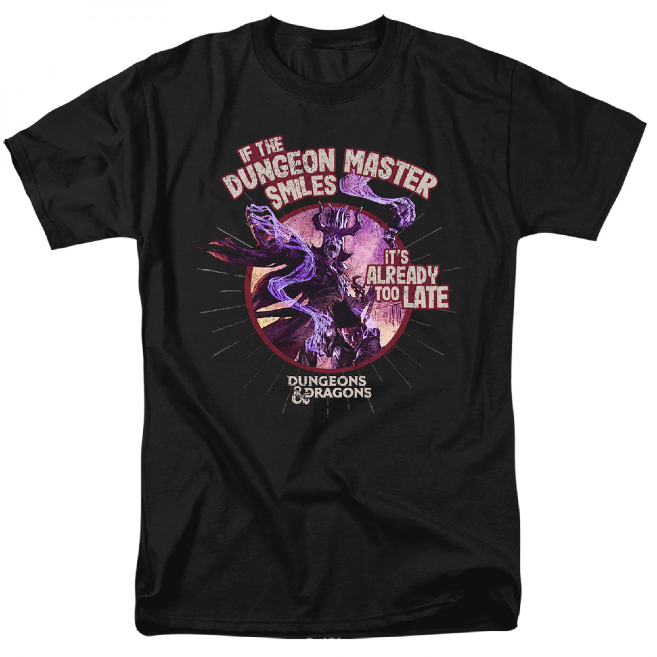 Dungeons & Dragons If The DM Smiles T-Shirt
