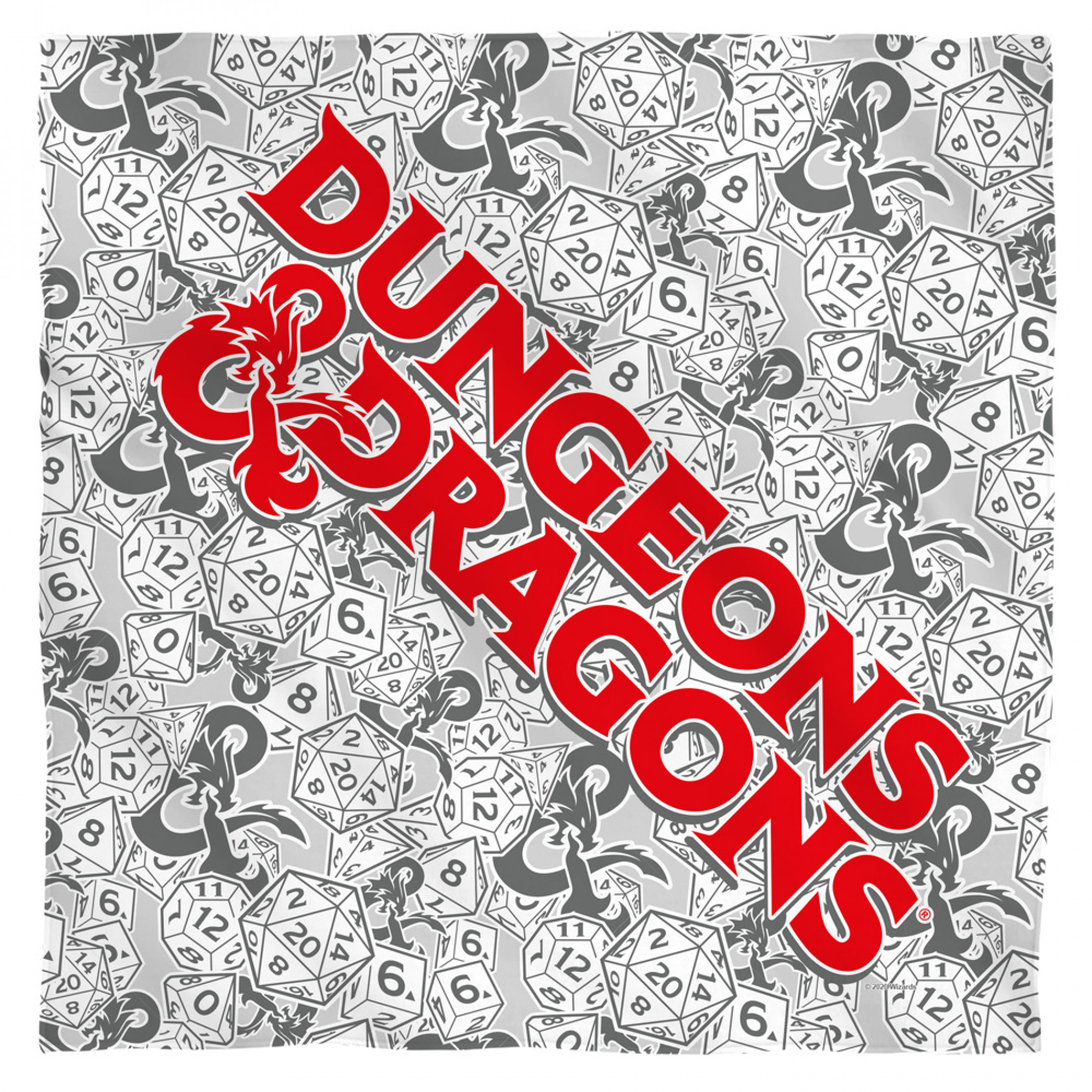 Dungeons & Dragons D20 Bandana