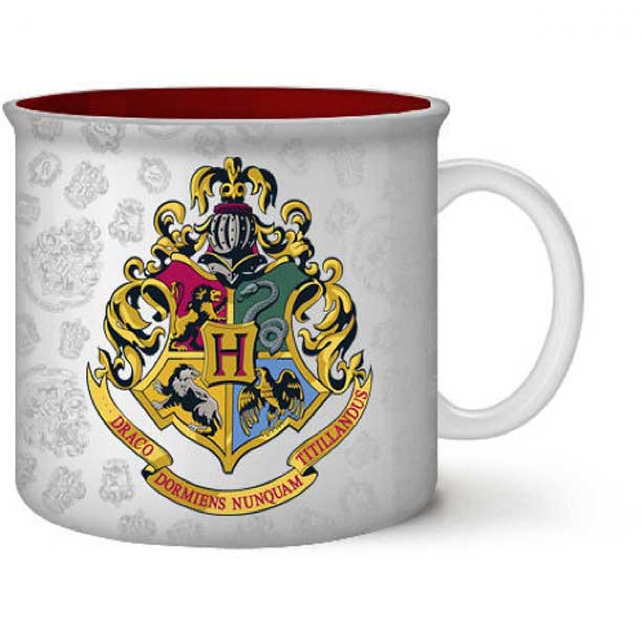 Harry Potter Hogwarts Crest 20oz Camper Mug