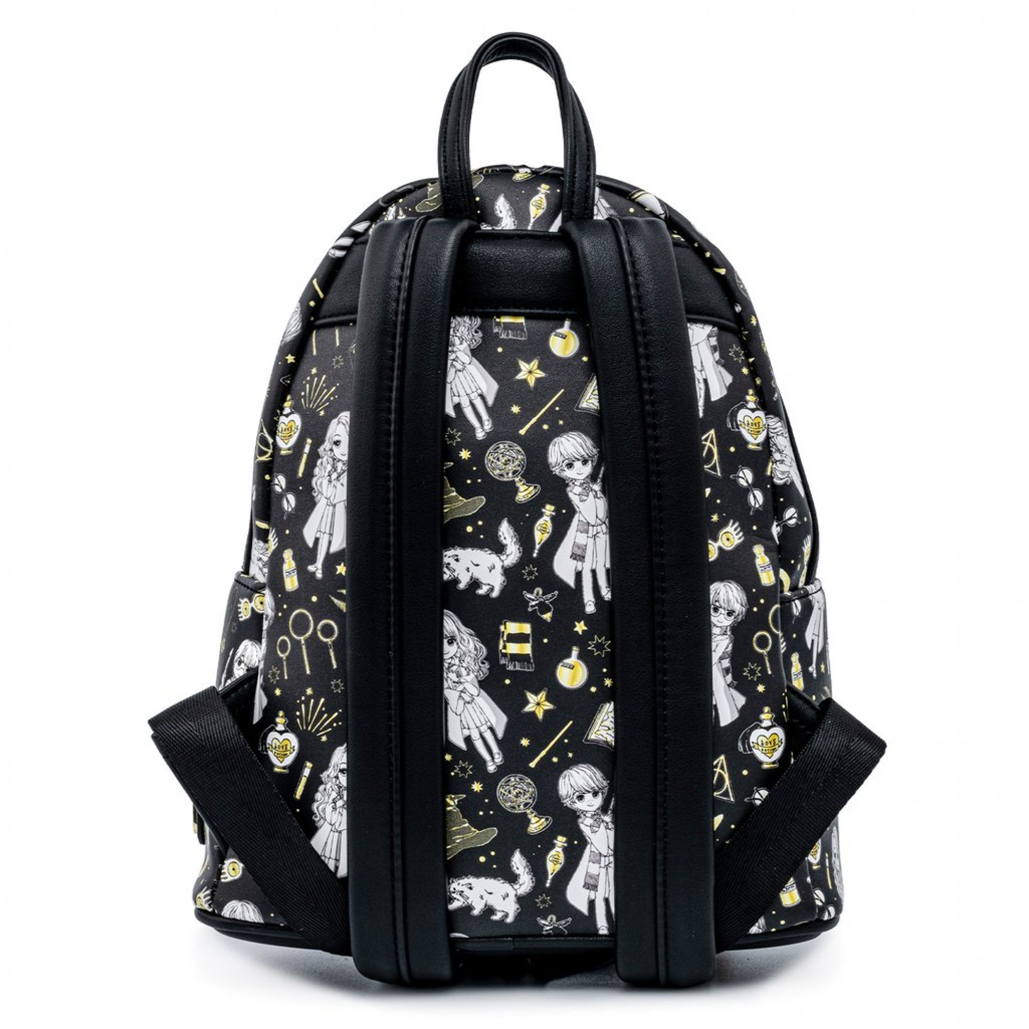 Harry Potter Magical Elements All Over Mini Backpack by Loungefly