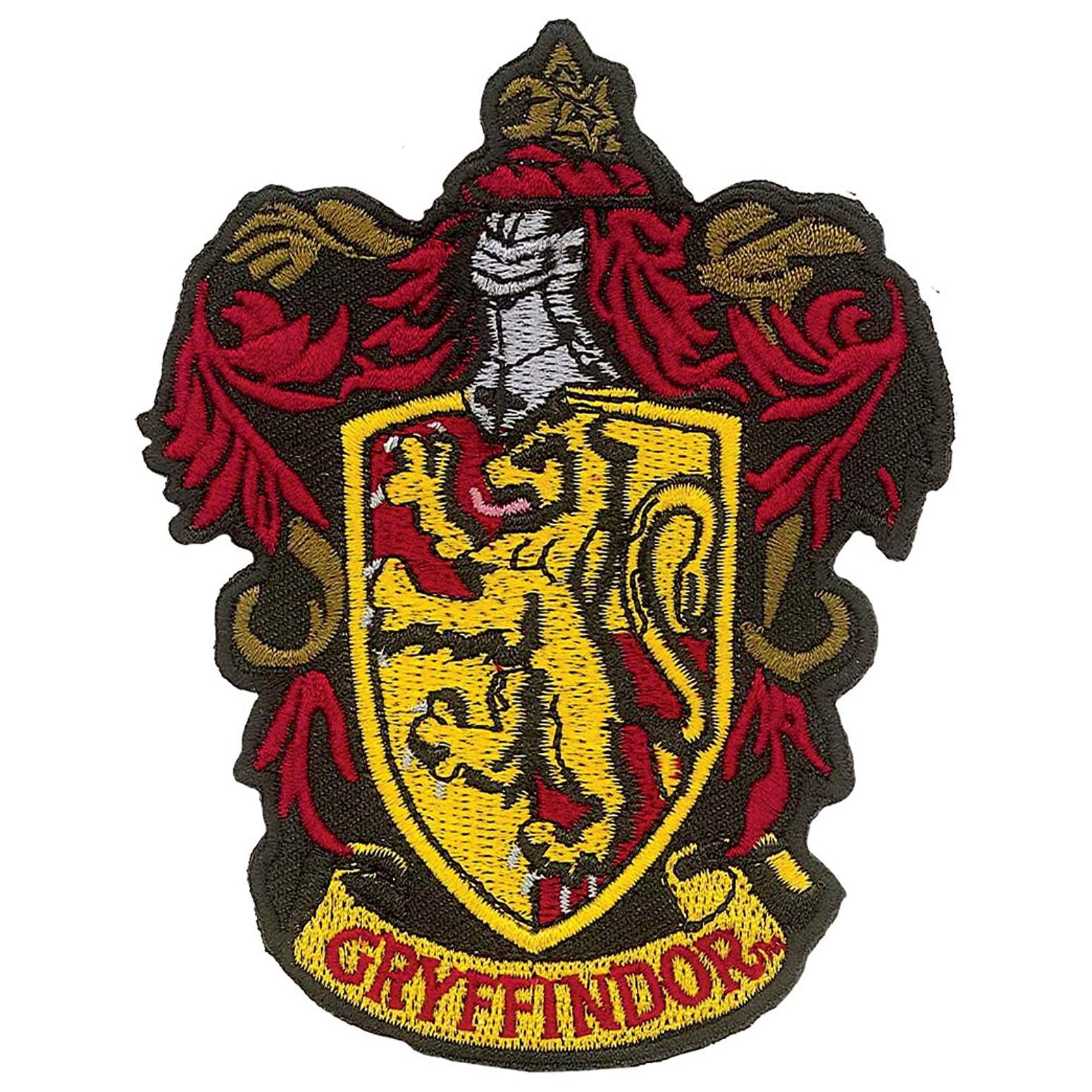 Harry Potter Gryffindor Iron On Patch