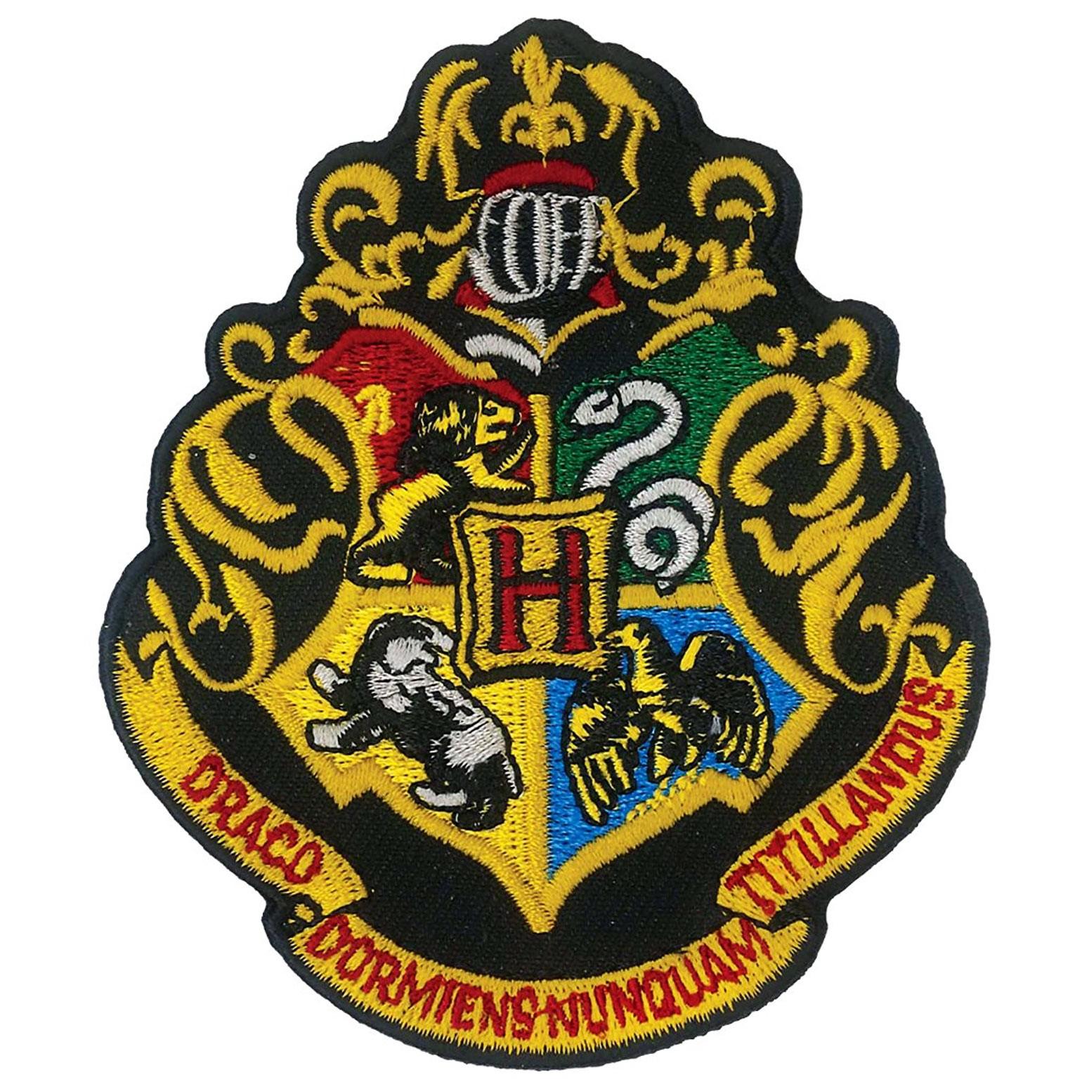 Harry Potter Hogwarts Iron On Patch