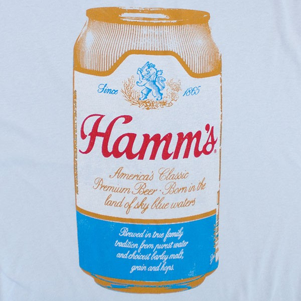 Hamm's Beer Can Men's Light Blue T-Shirt