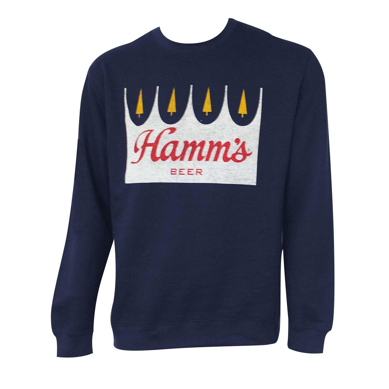 Hamm's Navy Blue Crewneck Sweatshirt