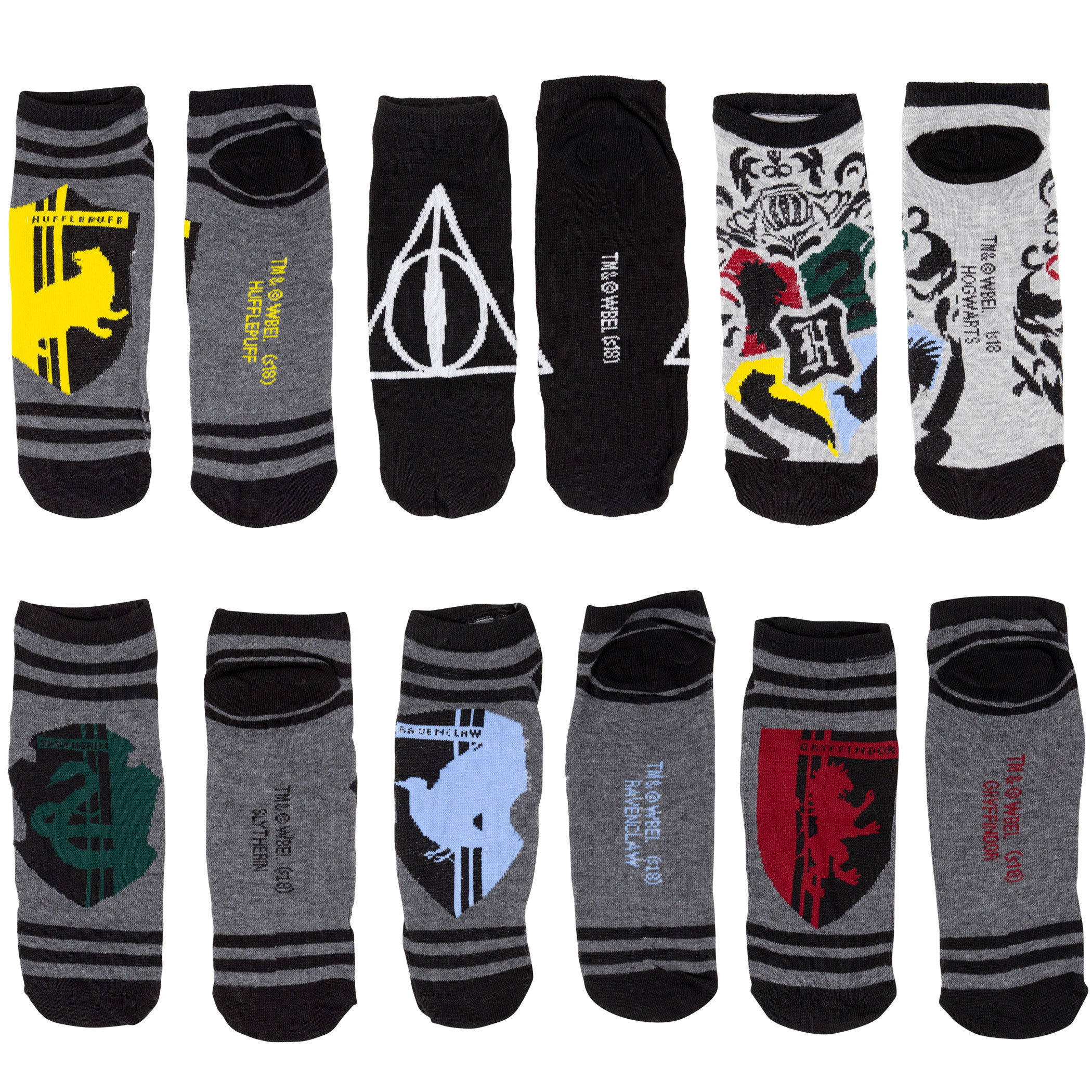 Harry Potter 12 Pairs Socks Gift Giving Box