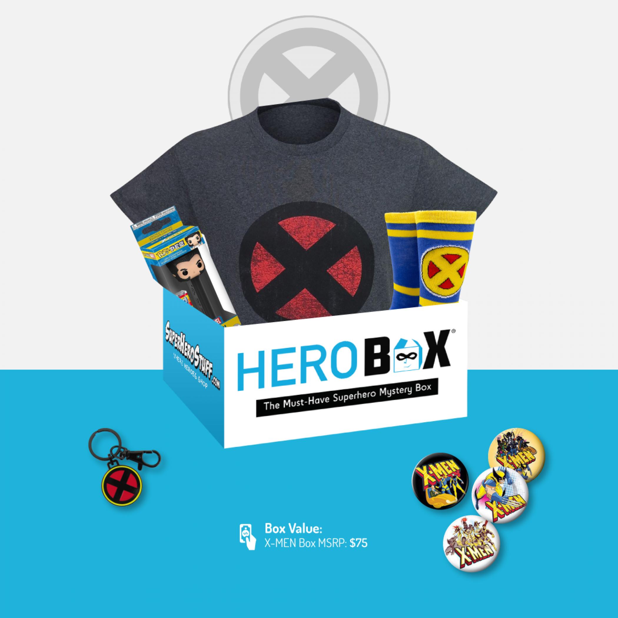 The Uncanny X-Men HeroBox