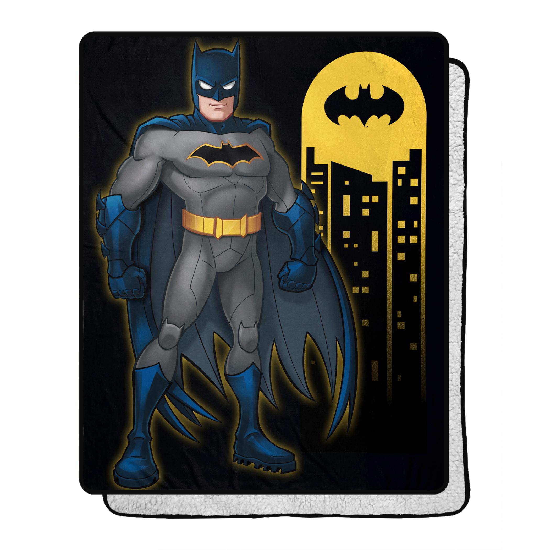 DC Comics Batman Answer The Call 40 X 50 Silk Touch Throw