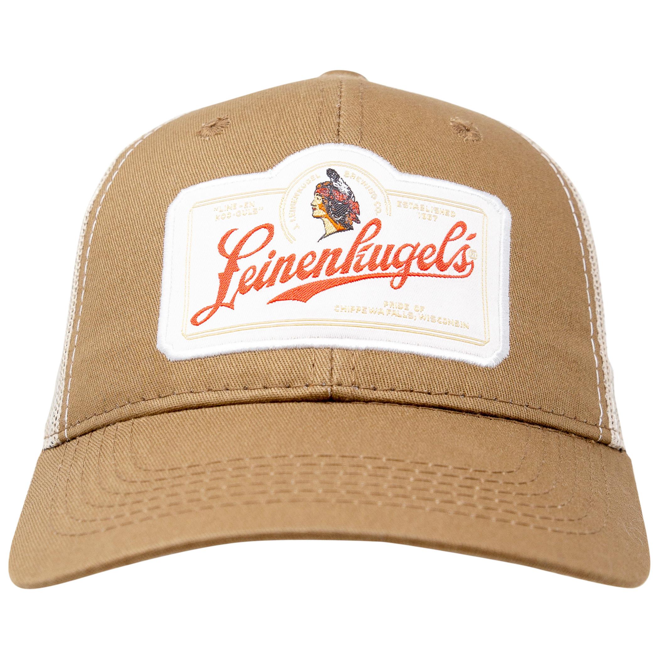 Leinenkugel Beer Adjustable Brown Trucker Hat