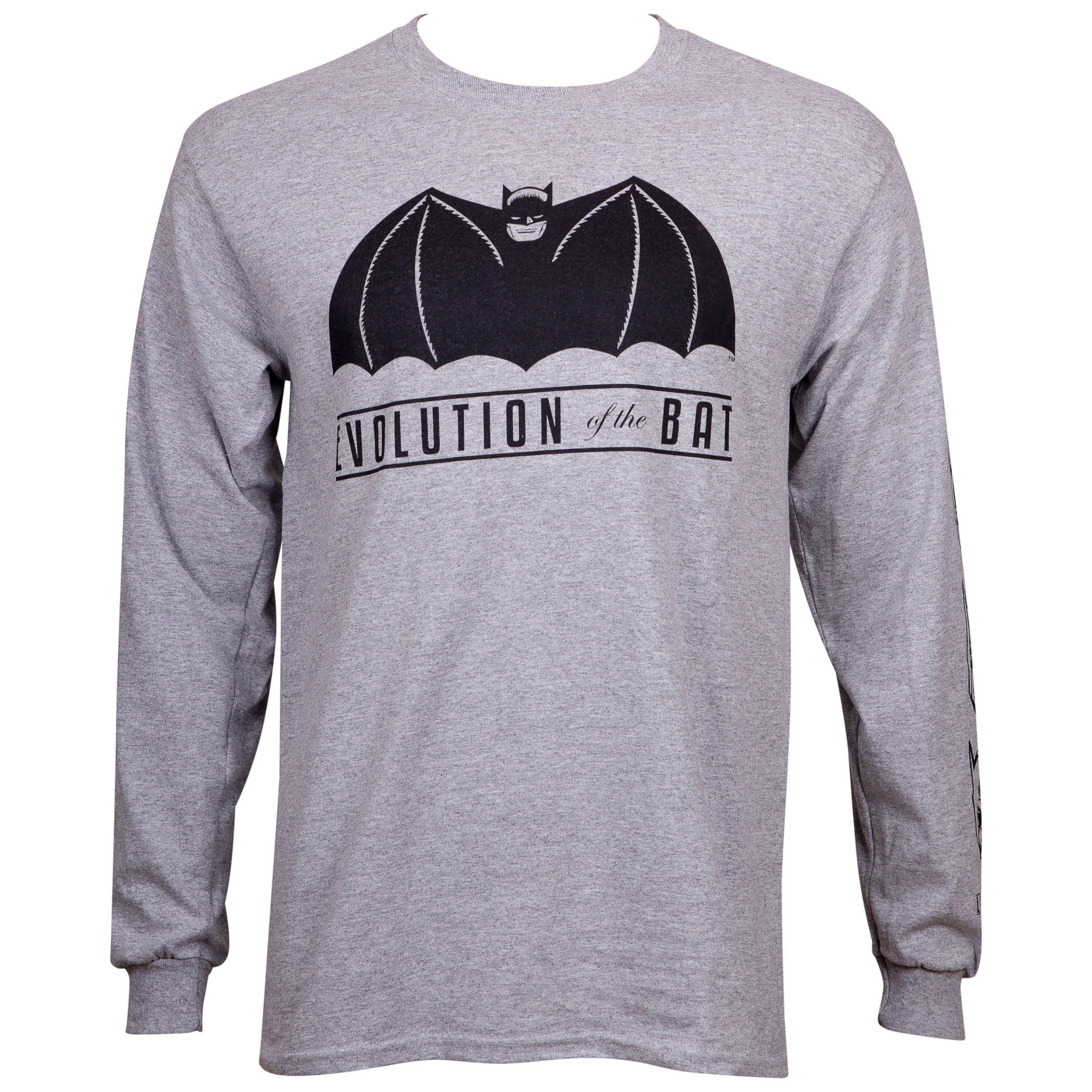 Batman Evolution 80th Anniversary Long Sleeve T-Shirt