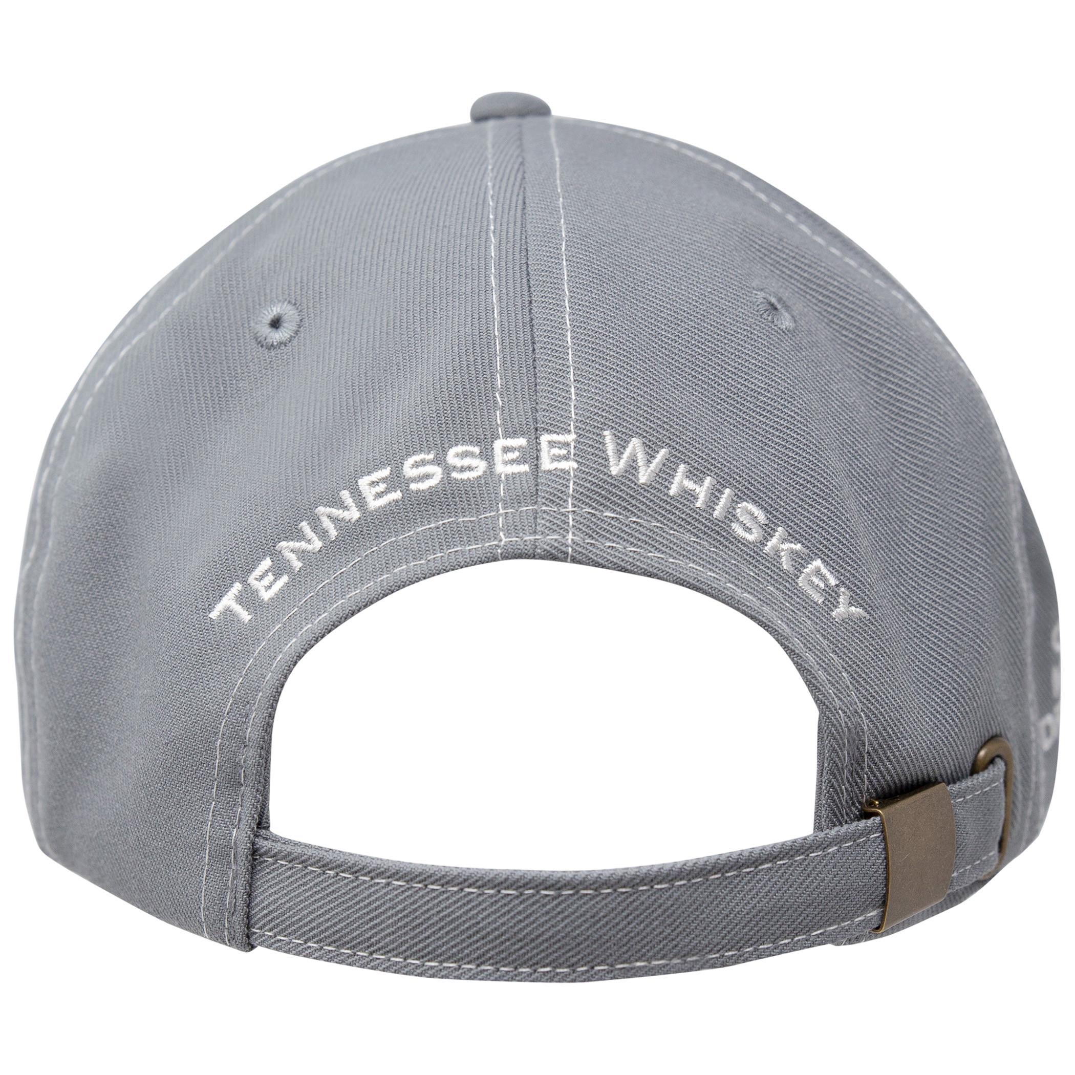Jack Daniels Contrast Stitching Grey Hat