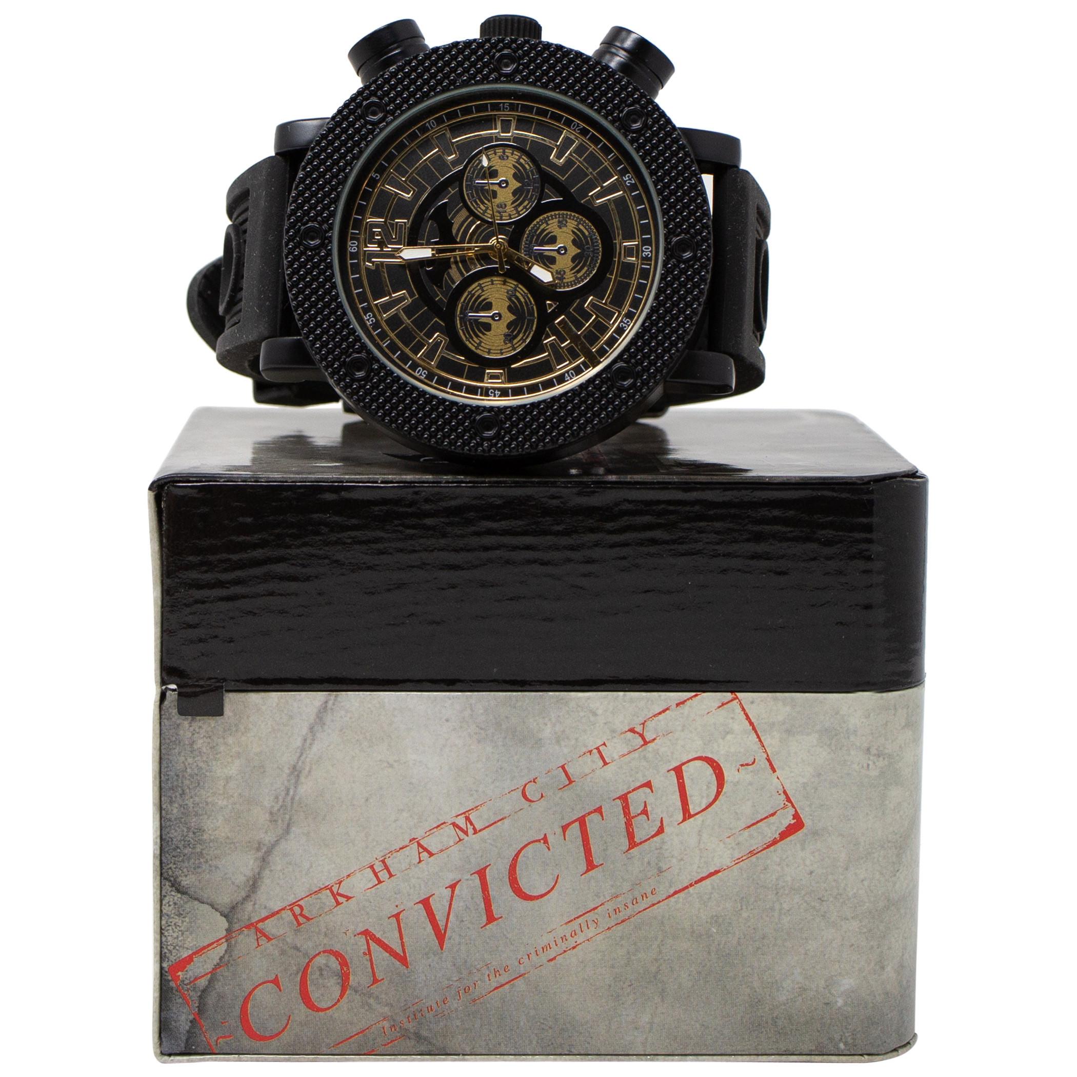 Batman Symbols Black Analog Watch