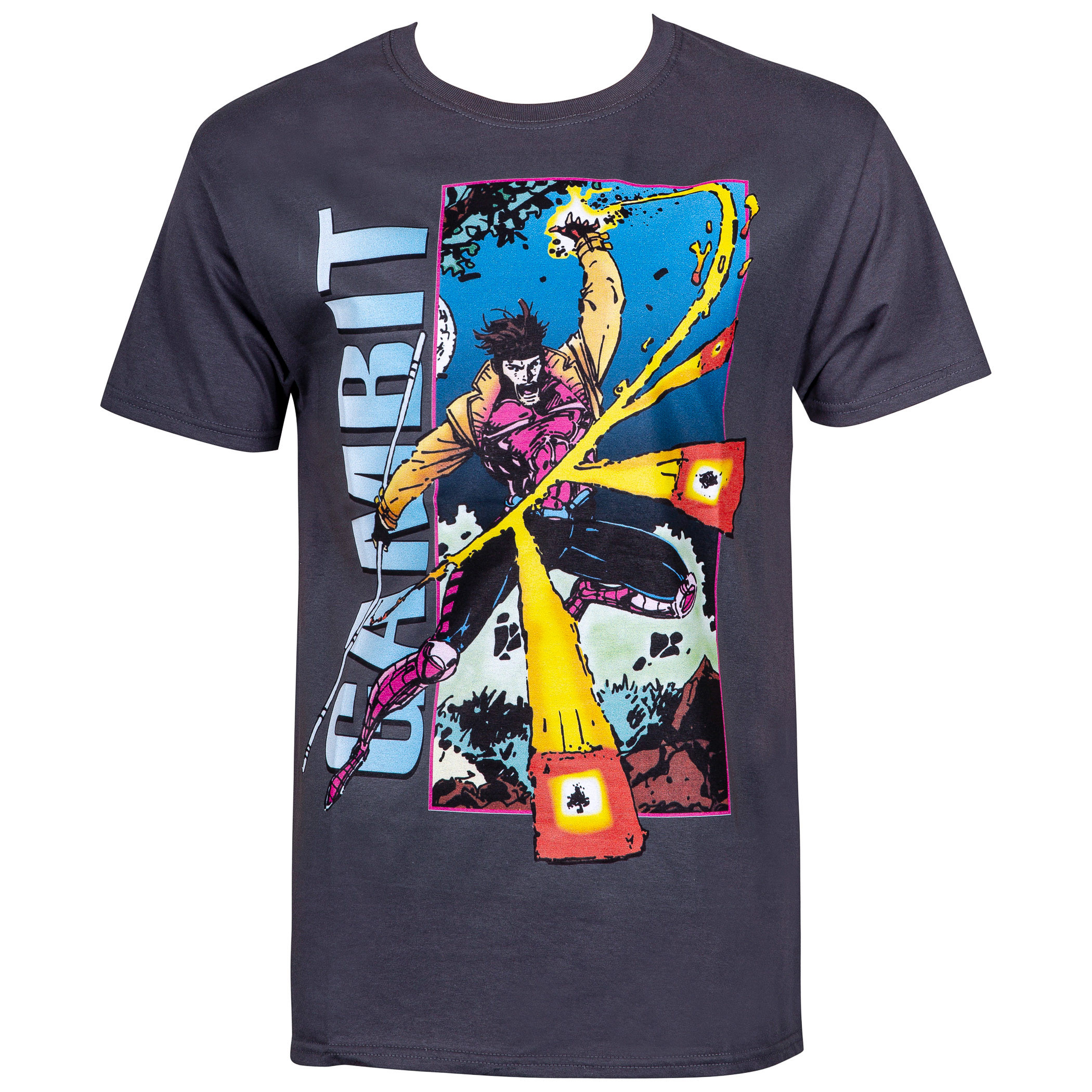 Gambit Card Trick Men's X-Men T-Shirt