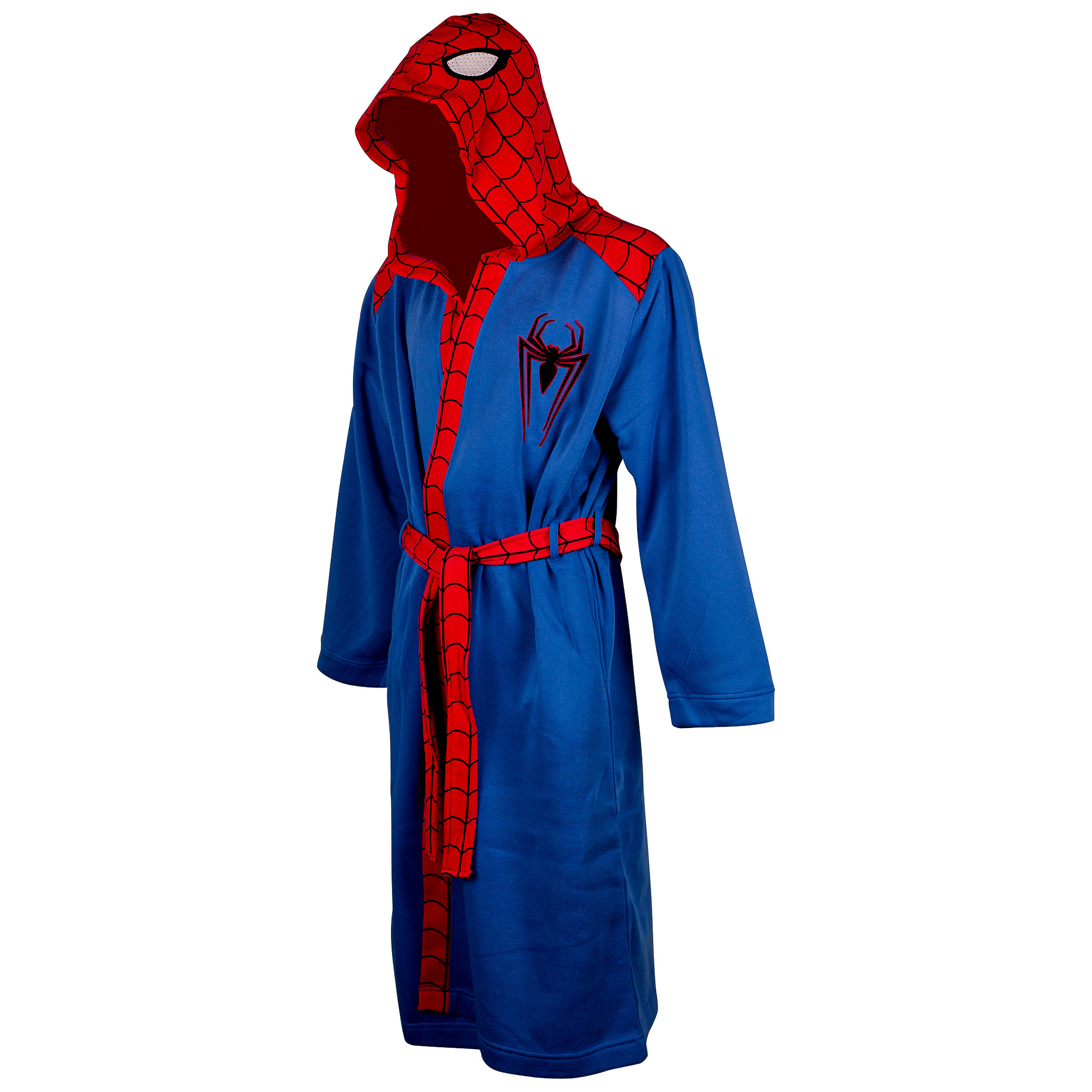 Spider-Man Men's Fleece Bathrobe