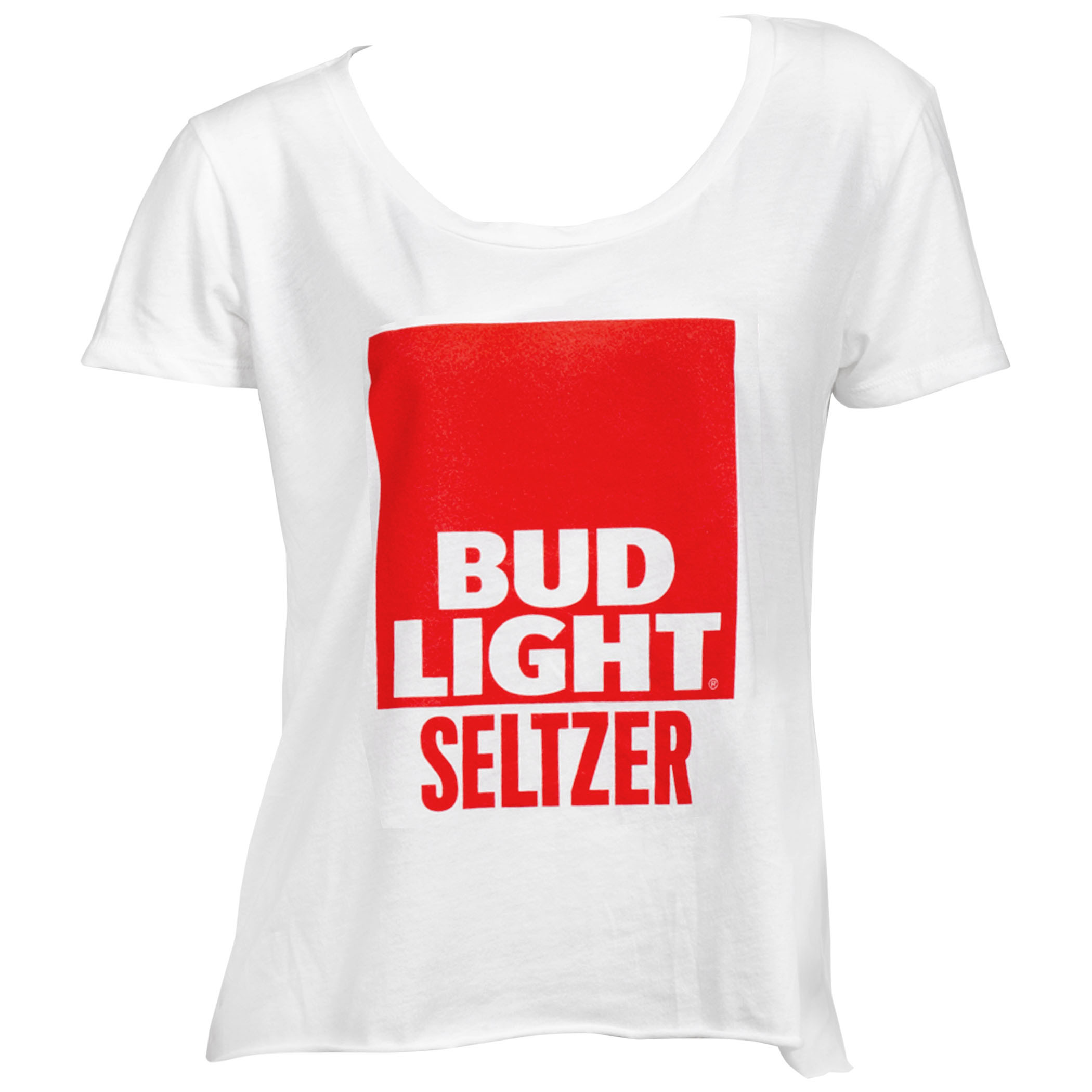 Bud Light Seltzer Women's Crop Top T-Shirt