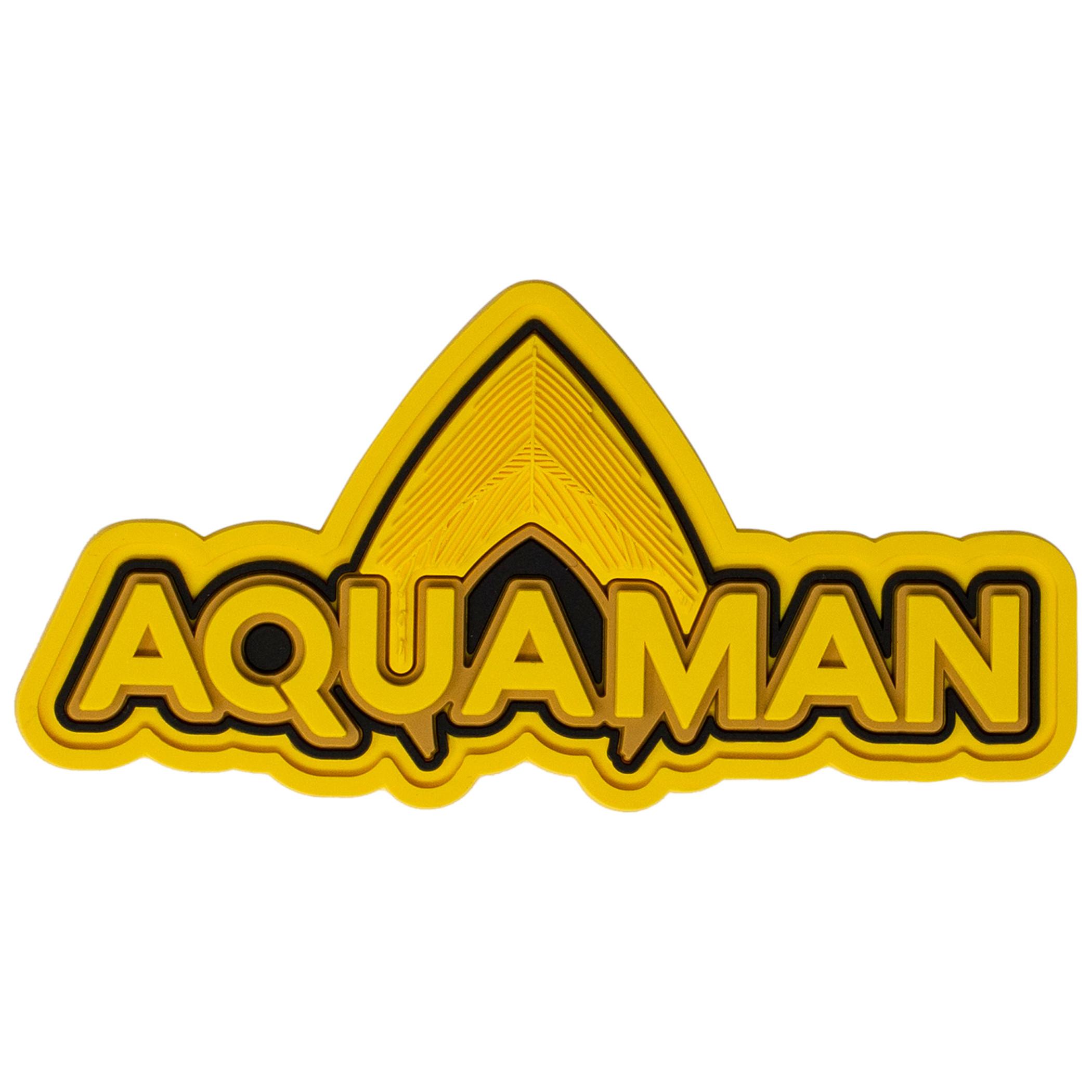 DC Comics Aquaman Text Soft Magnet