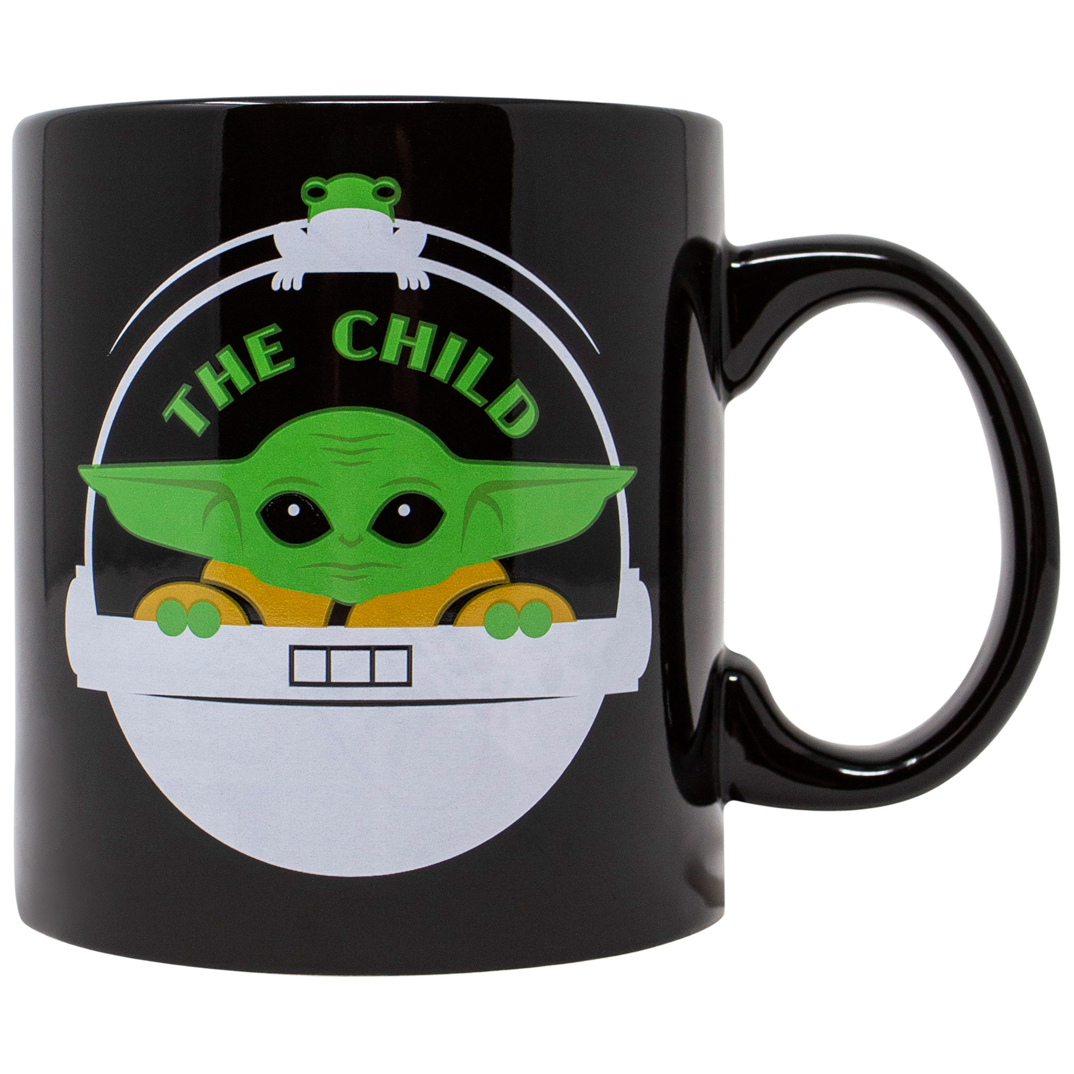 Star Wars The Mandalorian The Child and Frog 20 Ounce Ceramic Mug