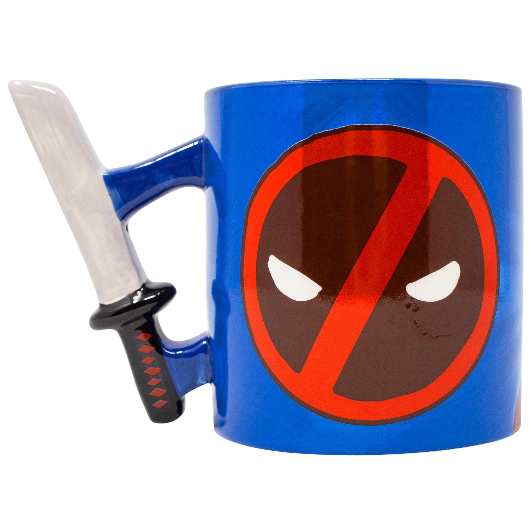 Deadpool Katana Handle 20 Ounce Mug