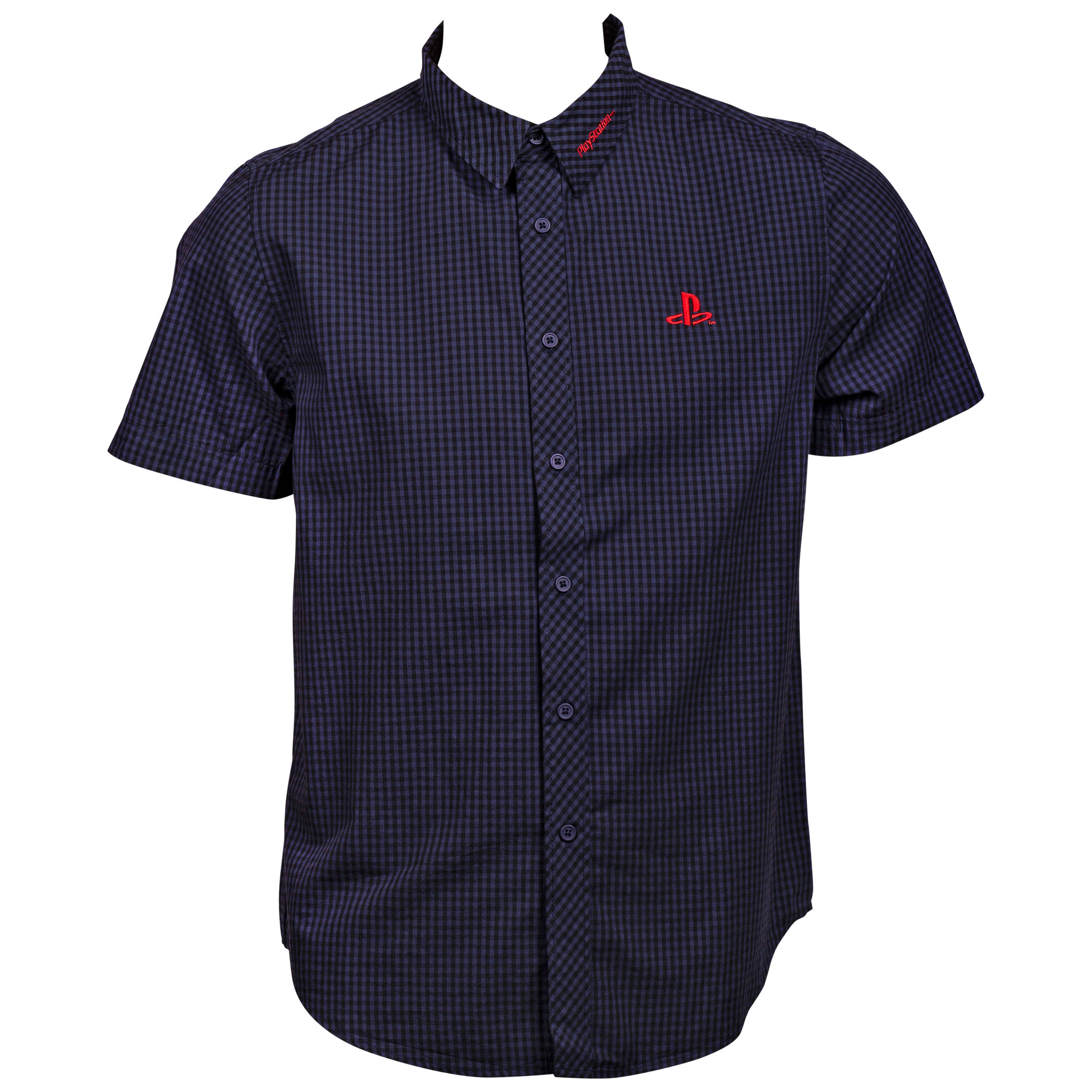 PlayStation Logo Button Up Shirt