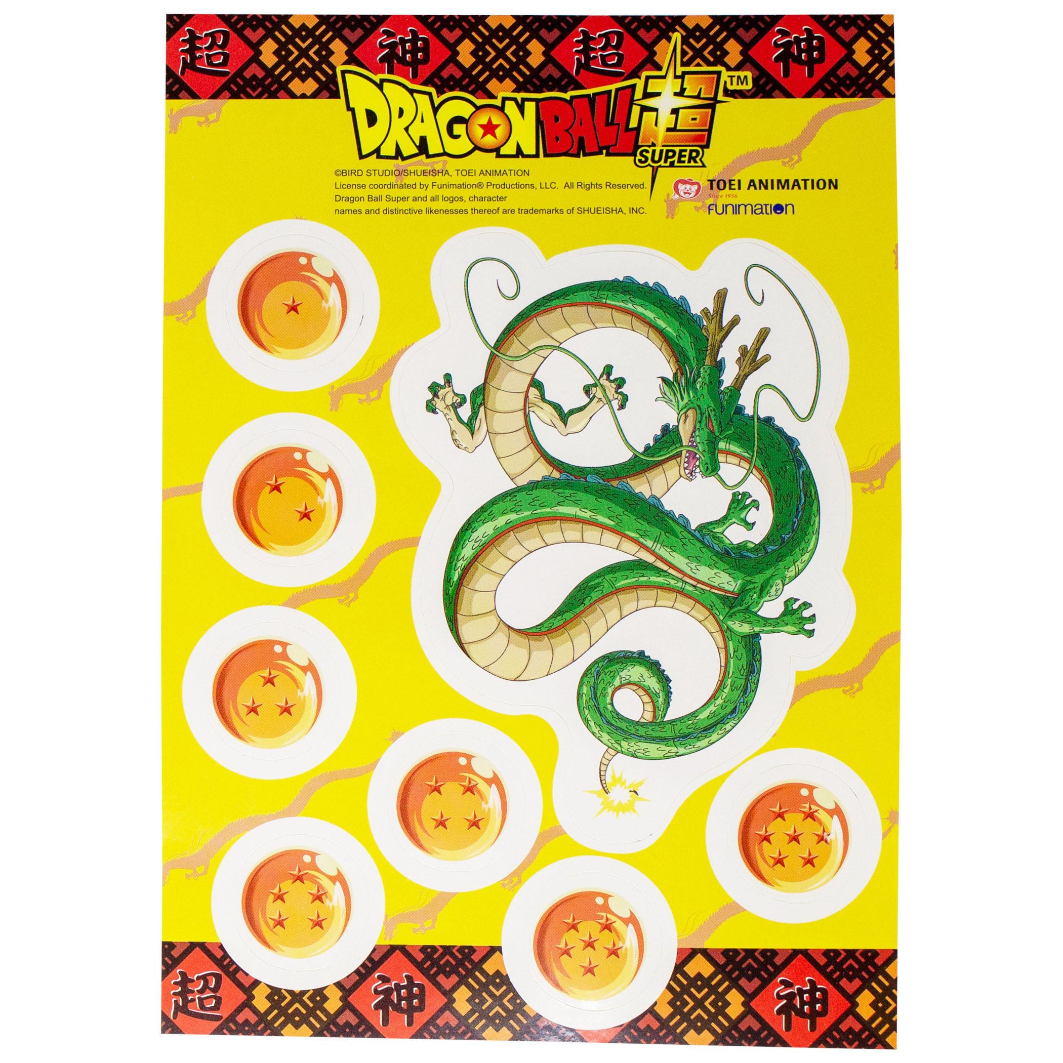 Dragon Ball Super Sticker Pack