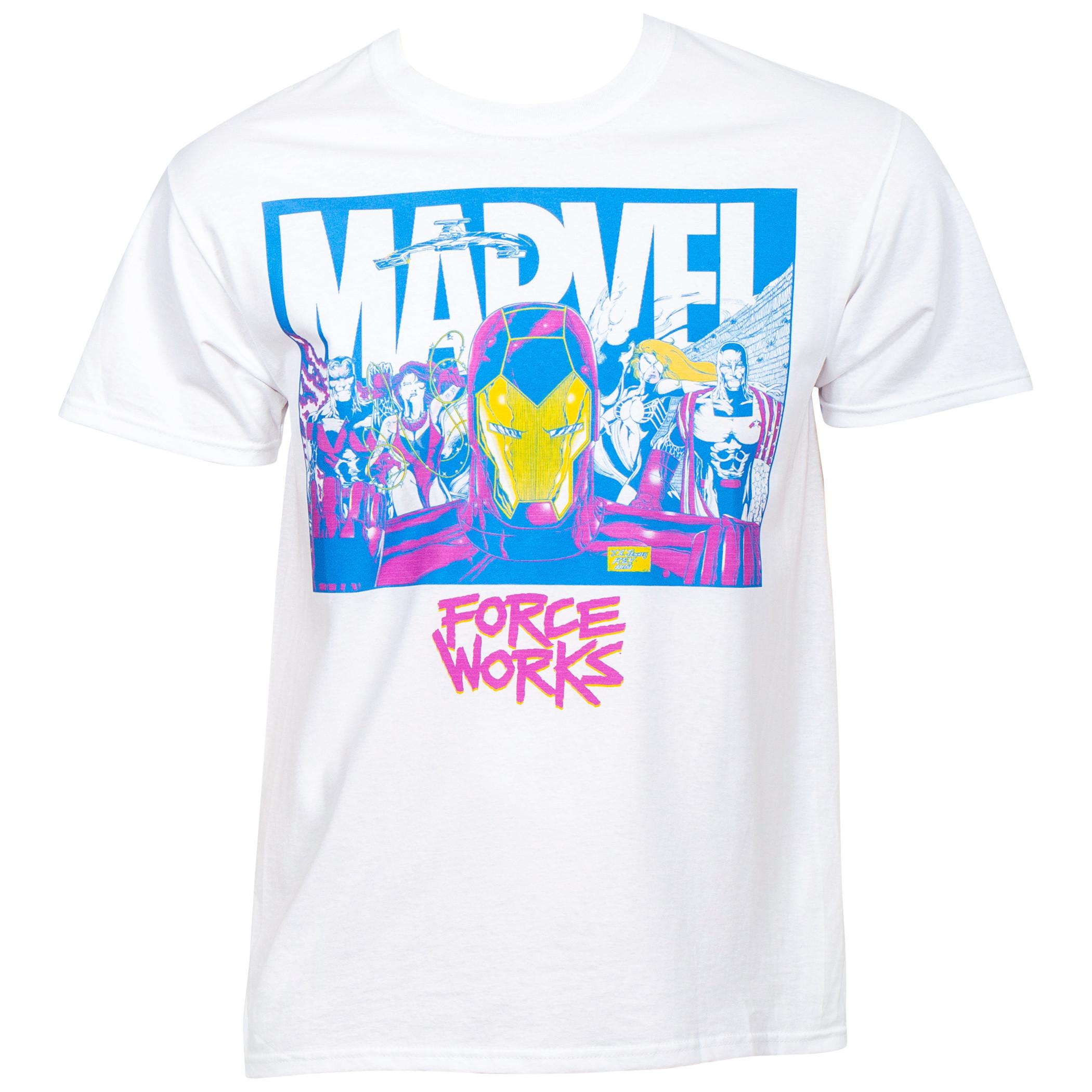 Marvel Force Works Team Up T-Shirt