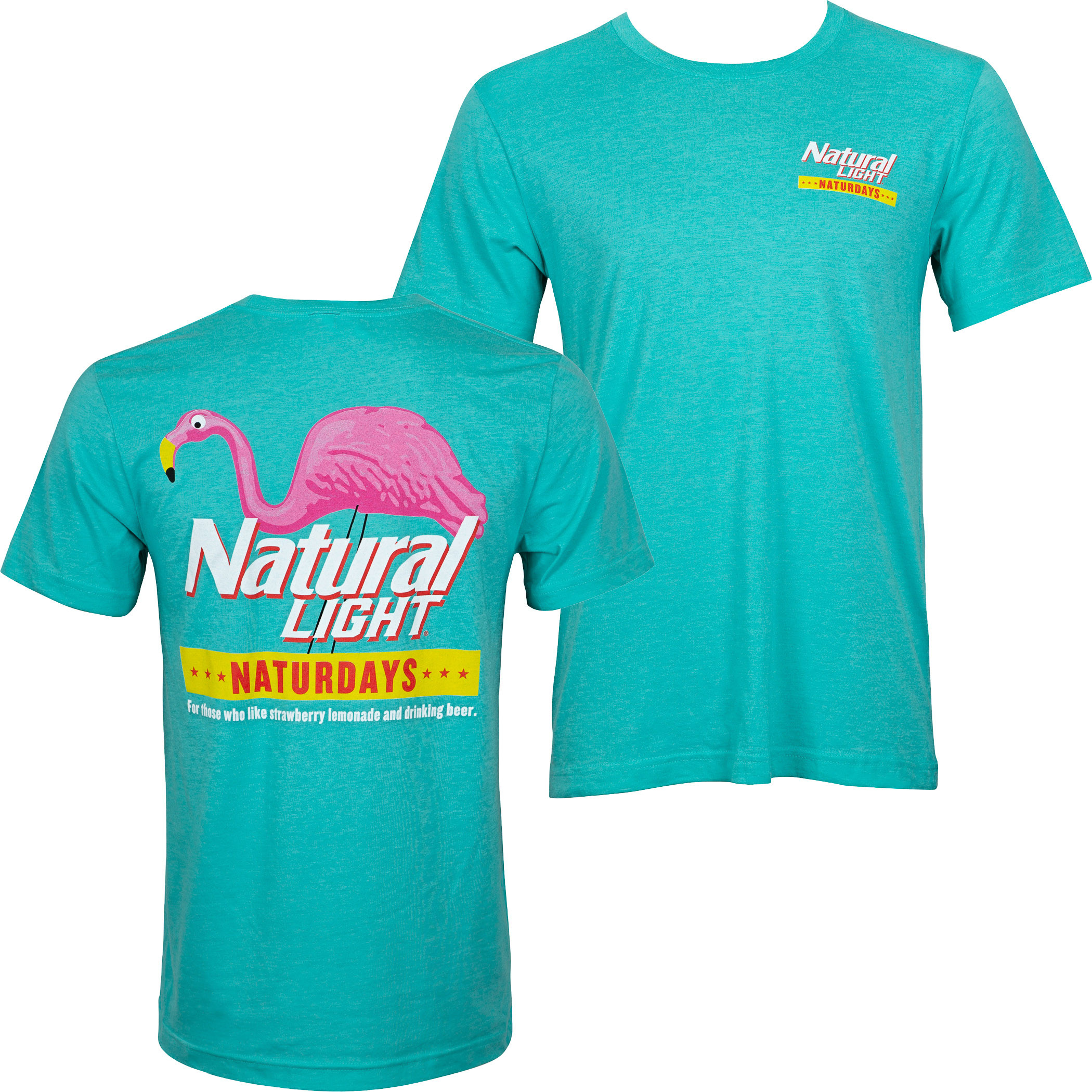 Natty Naturdays Green Natural Light Men's Tee Shirt