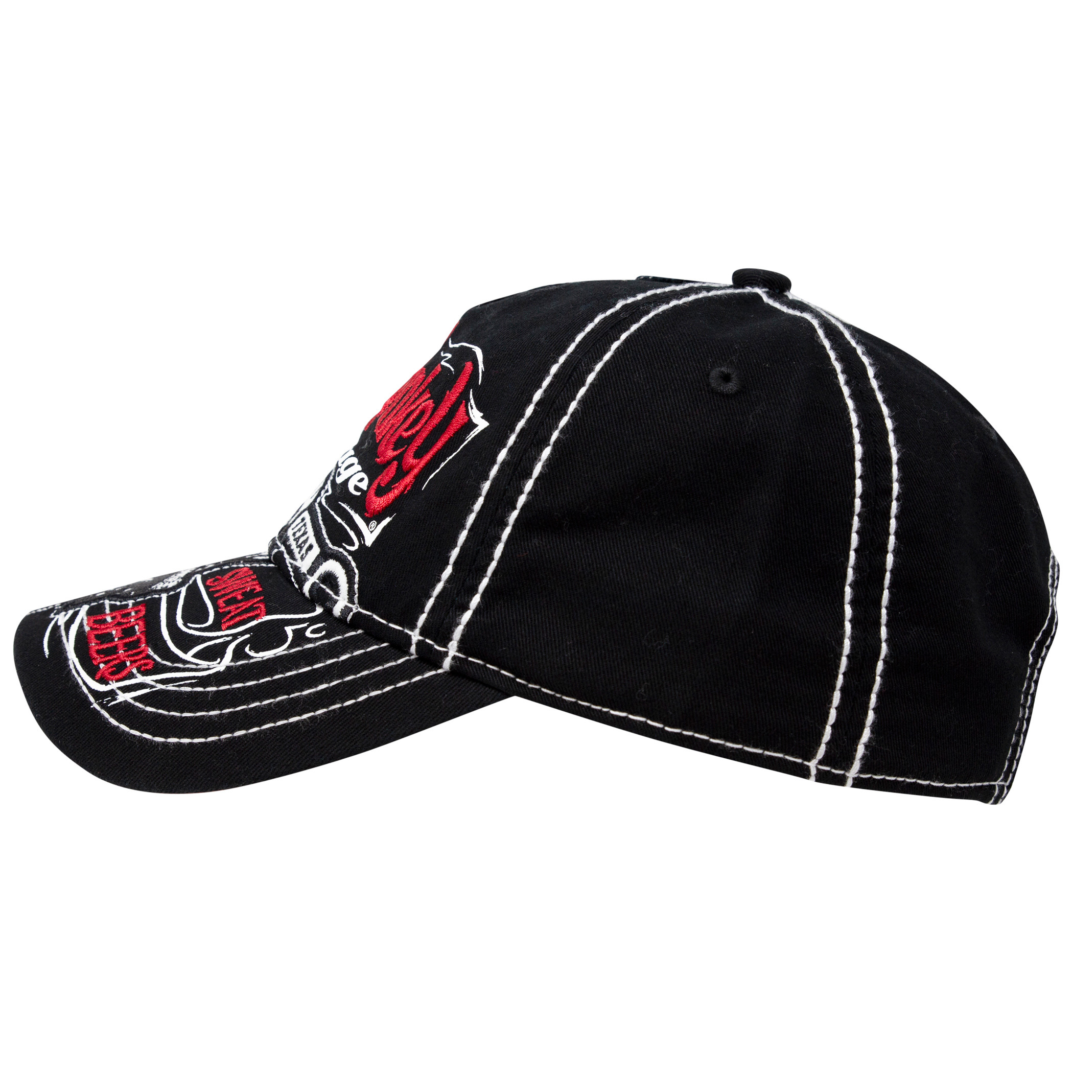 Gas Monkey Garage Strapback Black And Red Hat