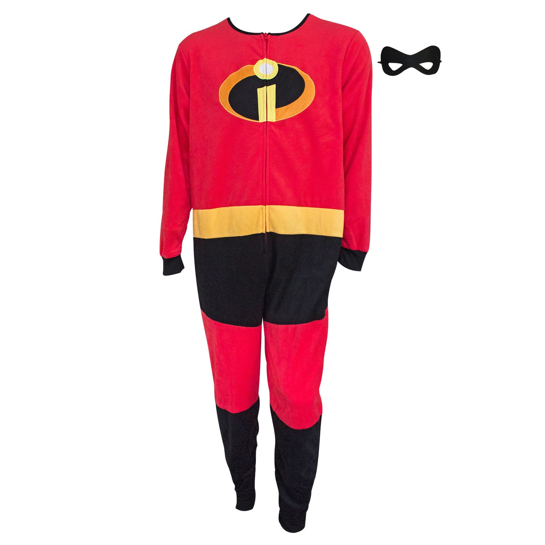 The Incredibles Costume Men's Pajamas Union Suit