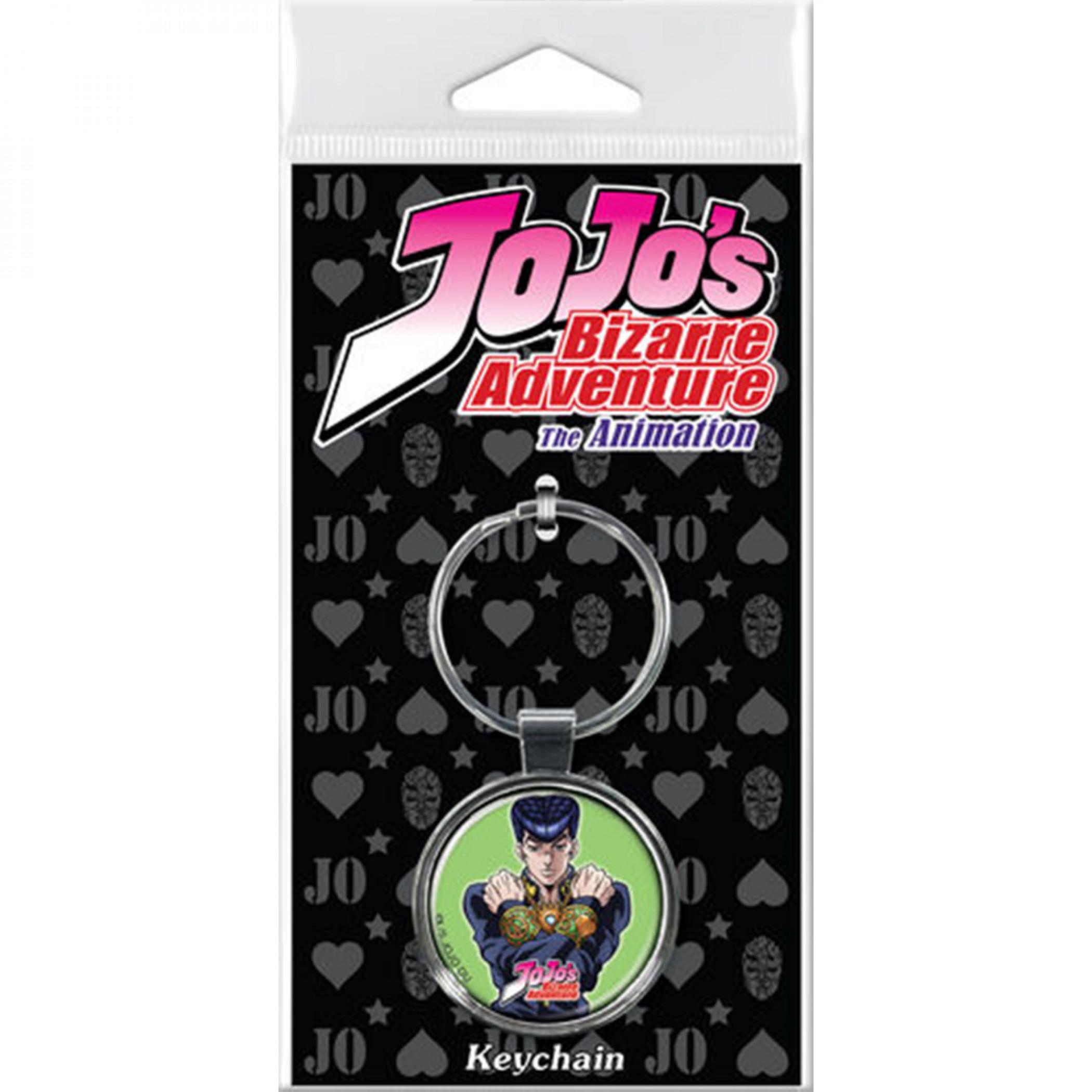 JoJo's Bizarre Adventure Josuke Higashikata Character Keychain