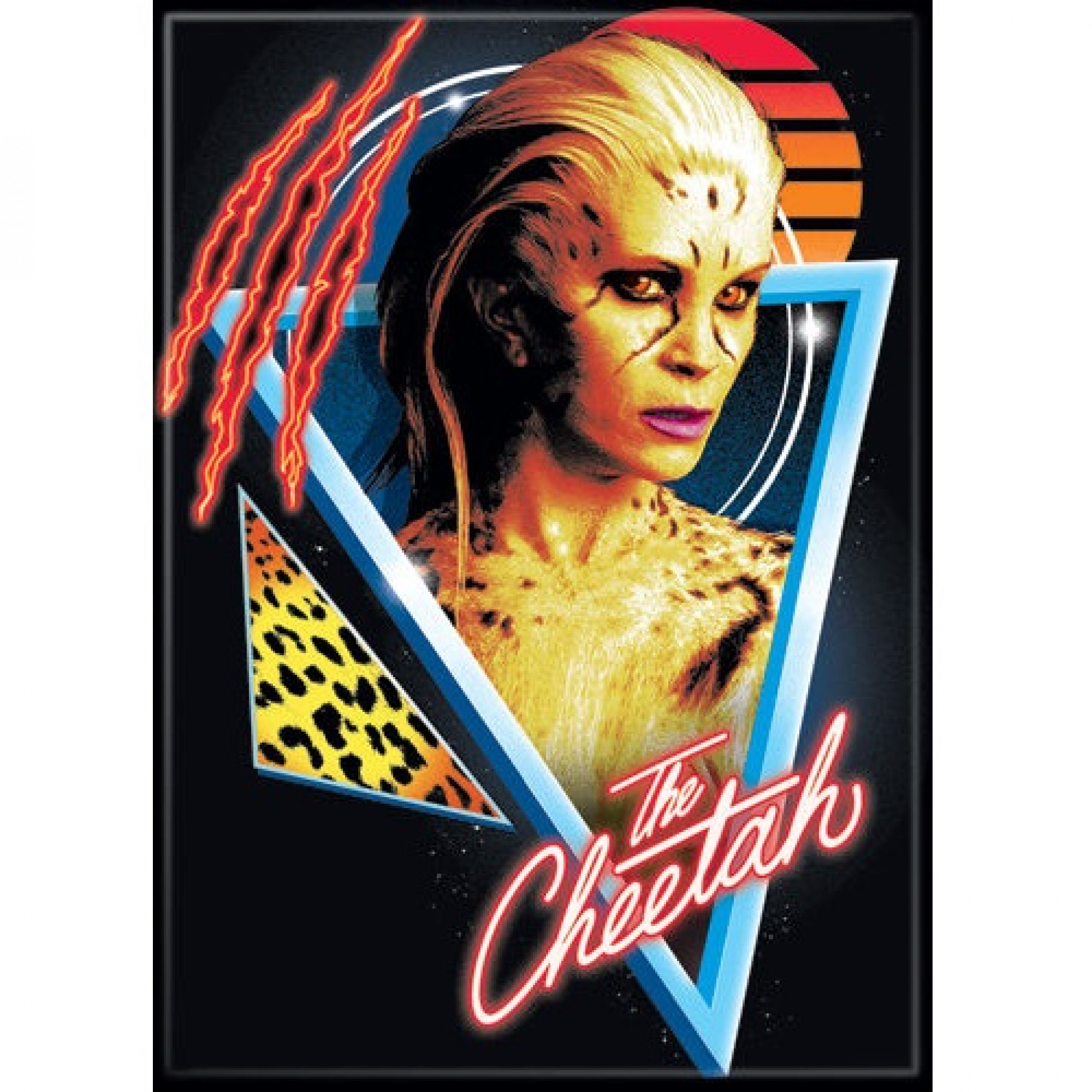 Wonder Woman 1984 The Cheetah Movie Poster Magnet