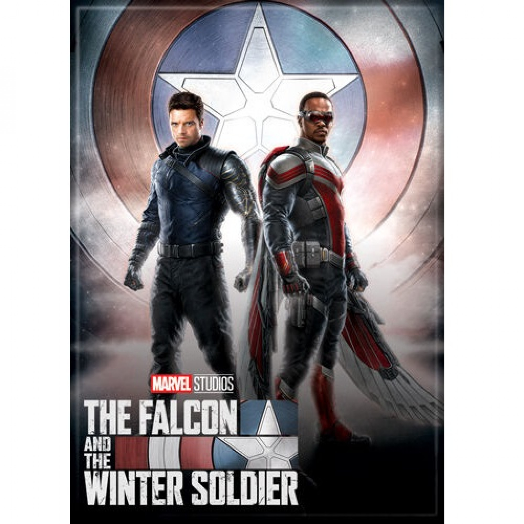 The Falcon and The Winter Soldier Series Action Pose Magnet