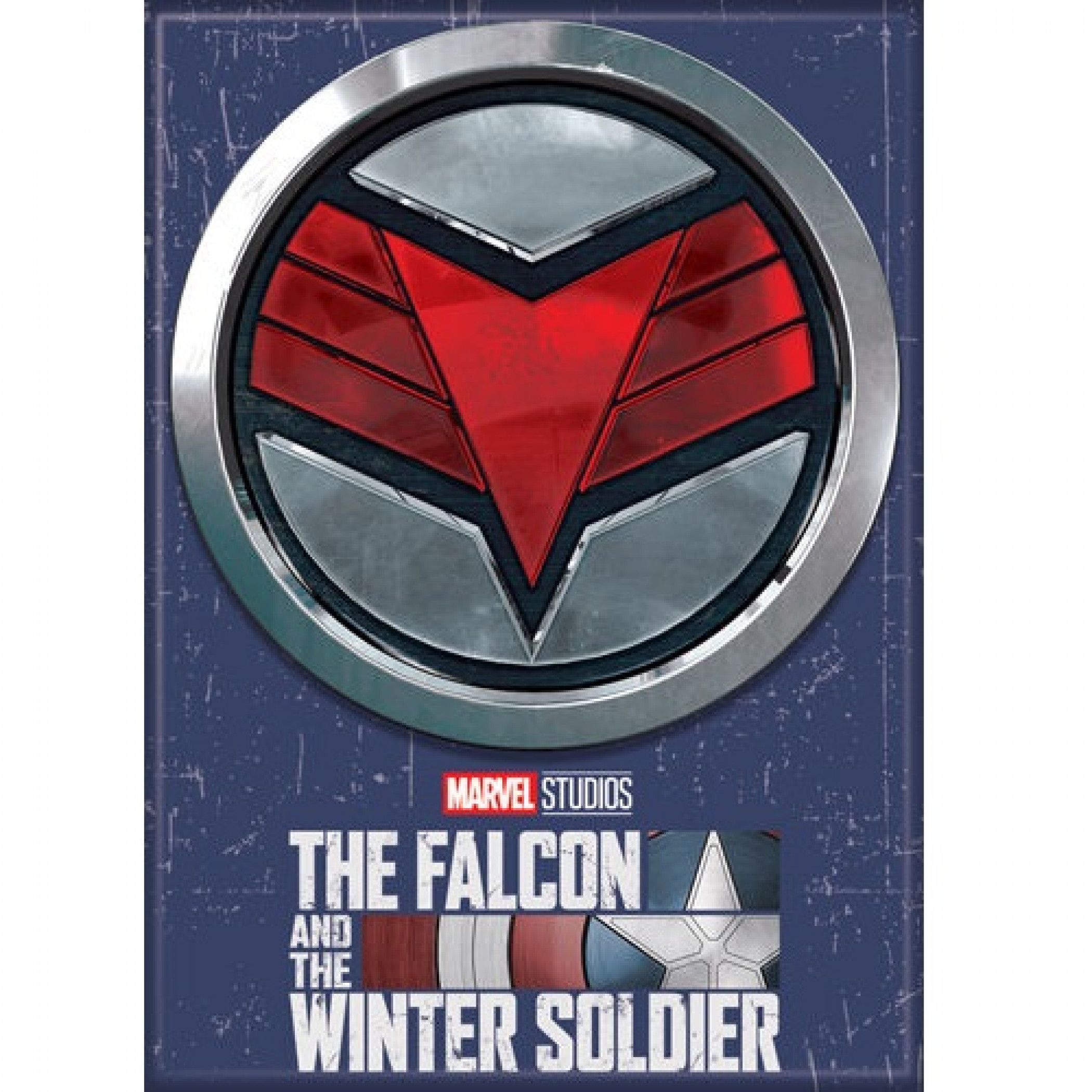 Falcon Symbol From The Falcon and The Winter Soldier Series Magnet