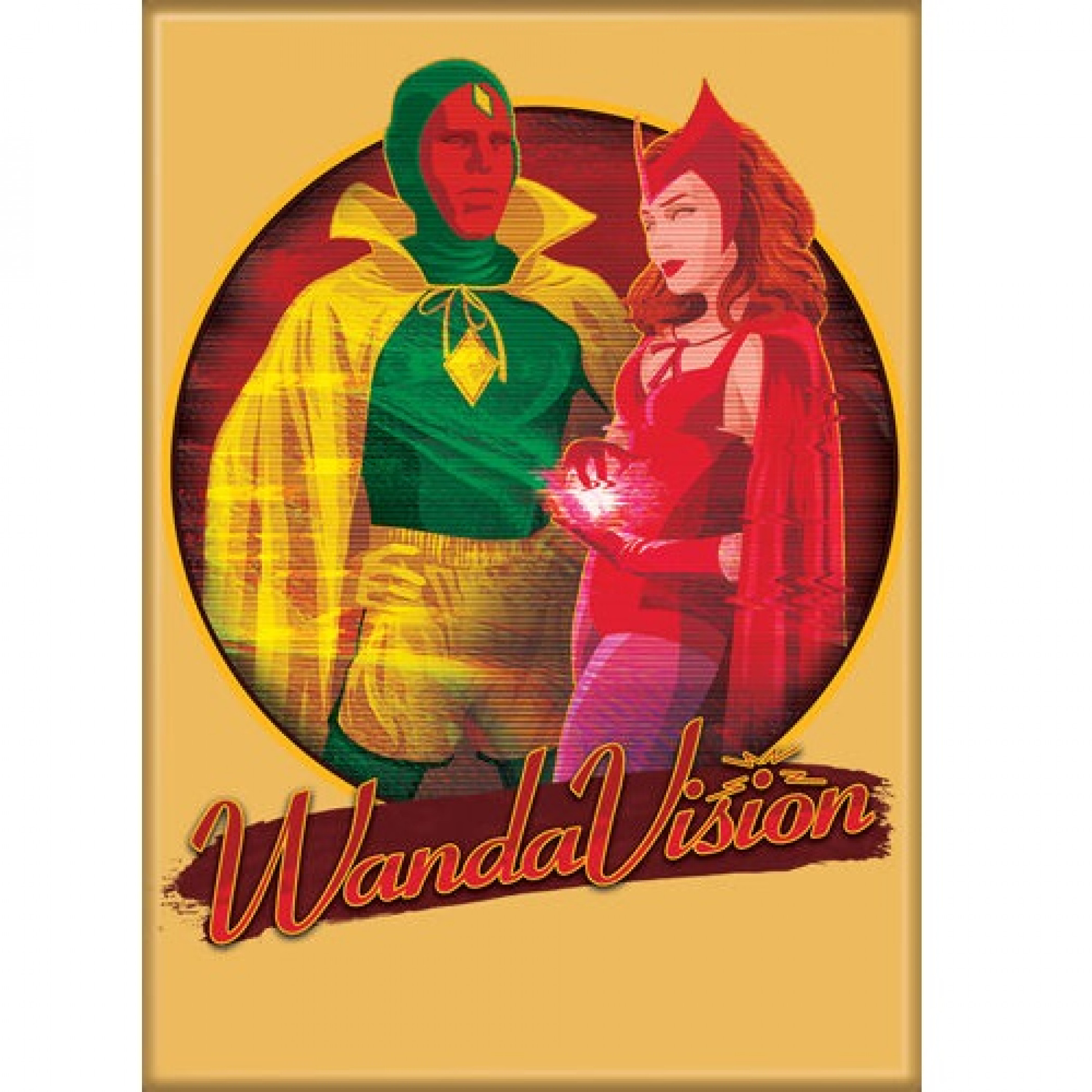 WandaVision Halloween Special Magnet