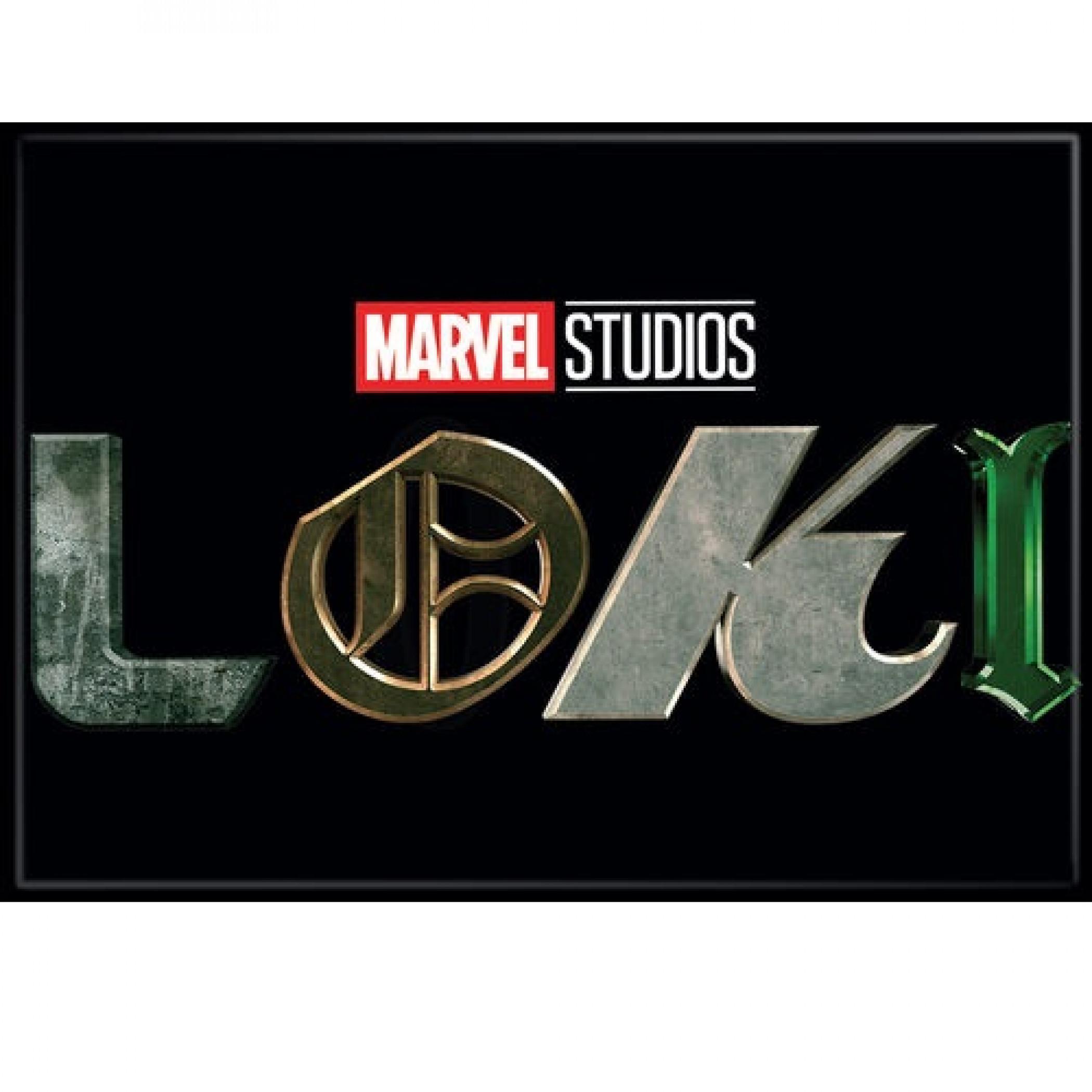 Marvel Studios Loki Series Title Card Logo Magnet